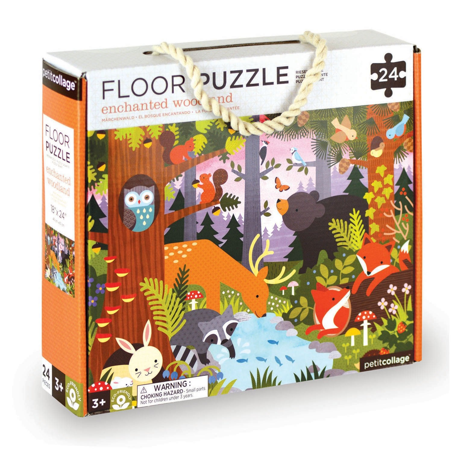 Petit Collage Floor Puzzles Petit Collage Puzzles Enchanted Woodland at Little Earth Nest Eco Shop