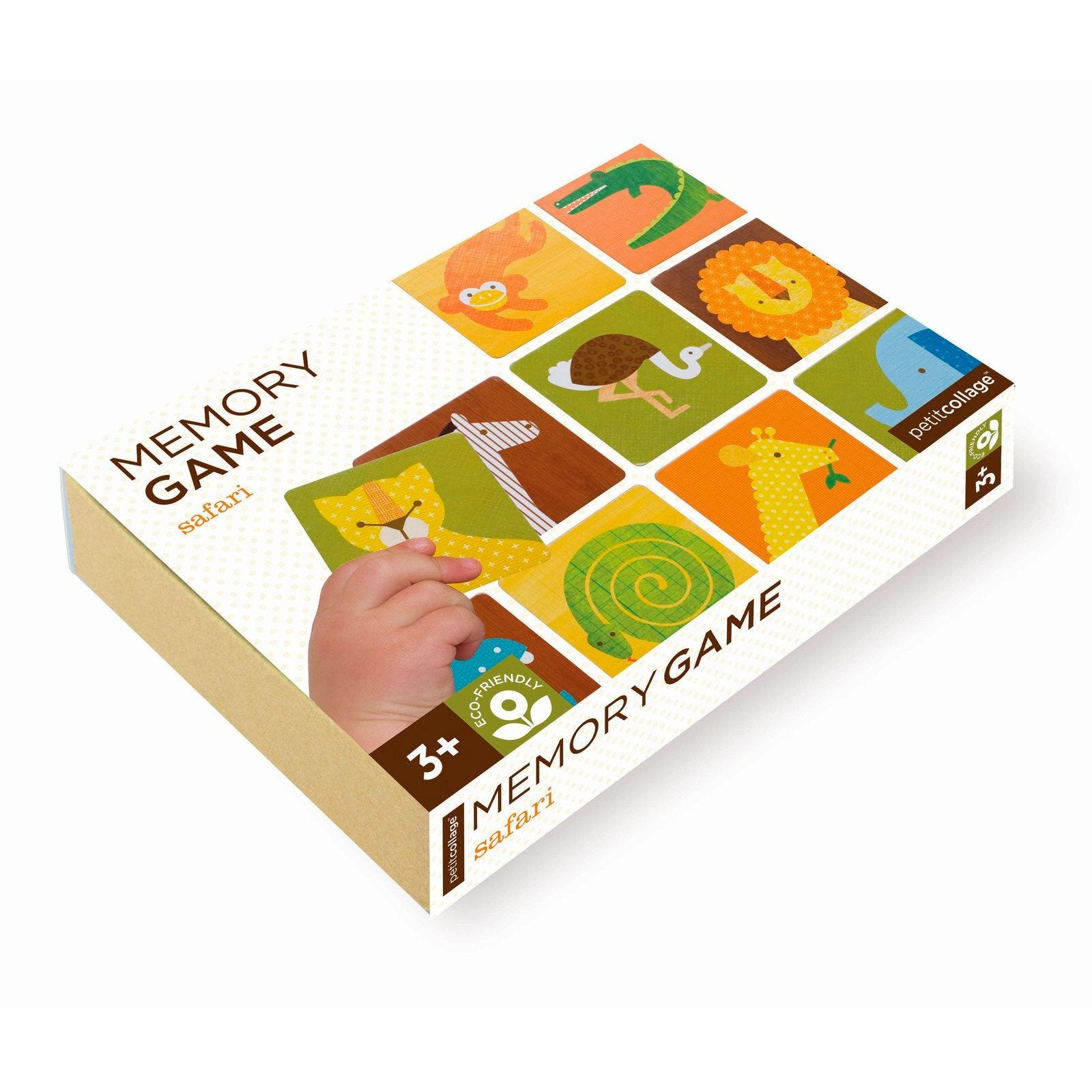 Petit Collage Memory Game Petit Collage Games Safari at Little Earth Nest Eco Shop
