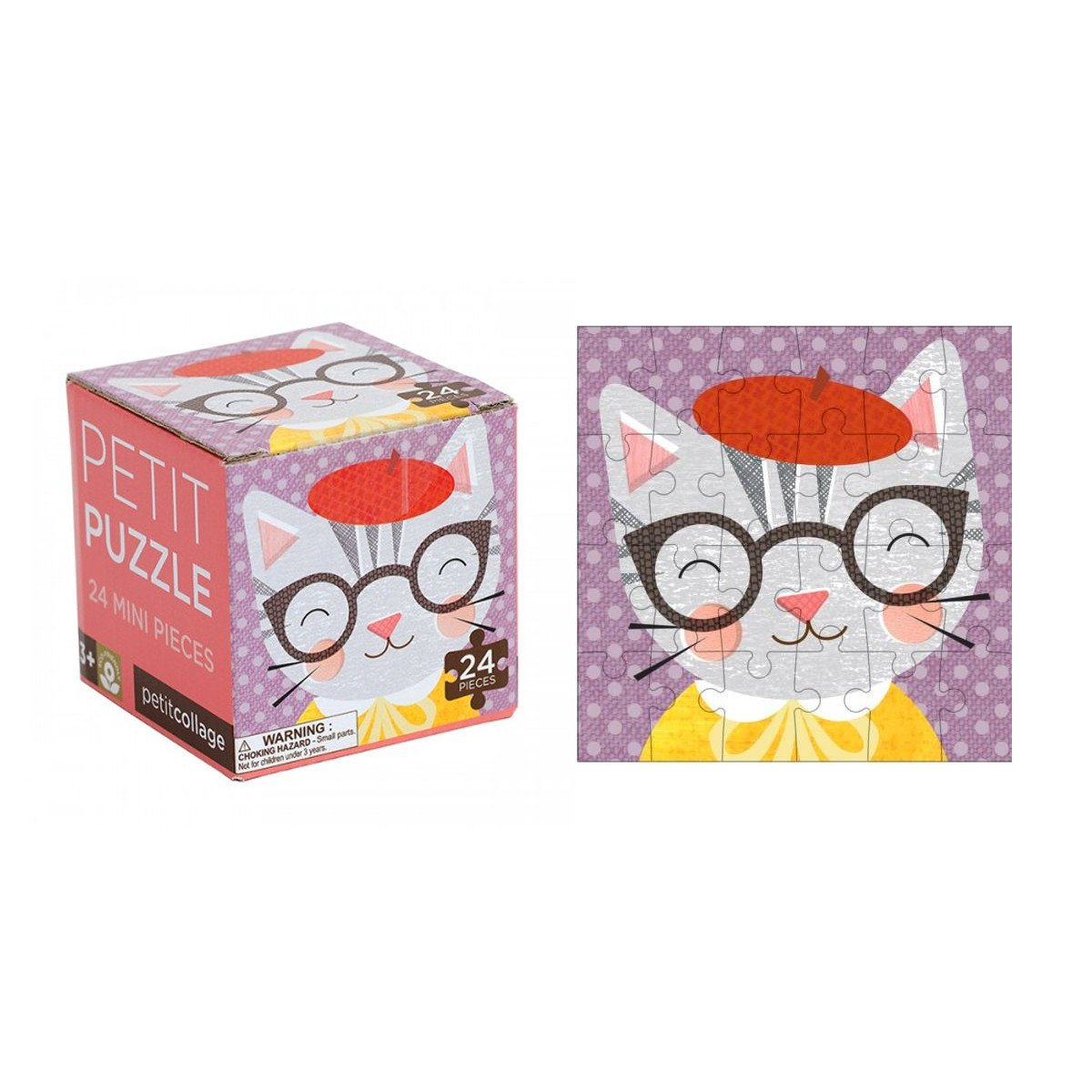Petit Collage Petit Puzzle Petit Collage Puzzles Cat at Little Earth Nest Eco Shop