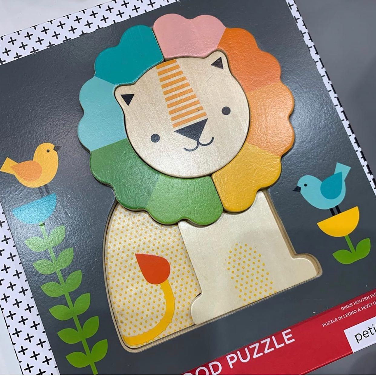 Petit Collage Lion Puzzle Petit Collage Puzzles Lion at Little Earth Nest Eco Shop