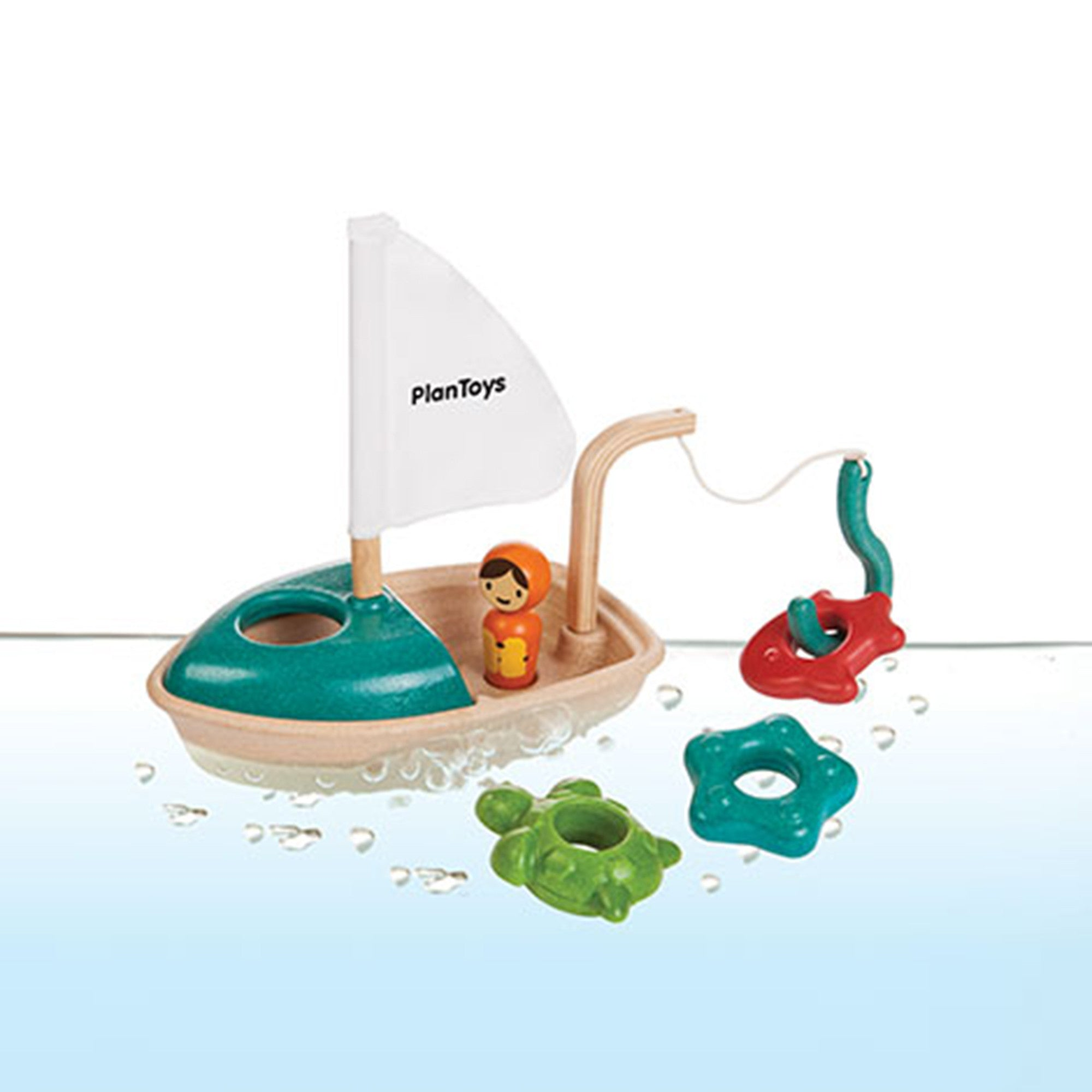 Plan Toys Activity Boat   - PlanToys - Little Earth Nest
