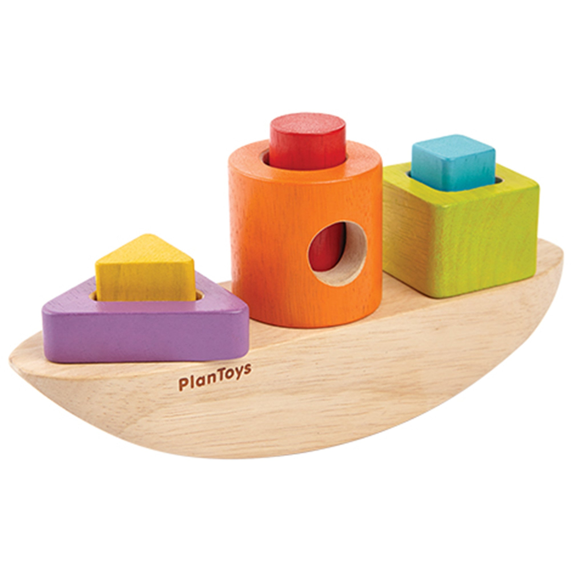 Plan Toys Sorting Boat PlanToys Activity Toys at Little Earth Nest Eco Shop