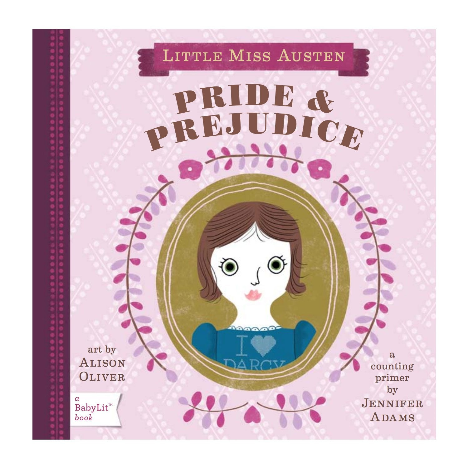 Pride and Prejudice Baby Board Book Babylit Books at Little Earth Nest Eco Shop