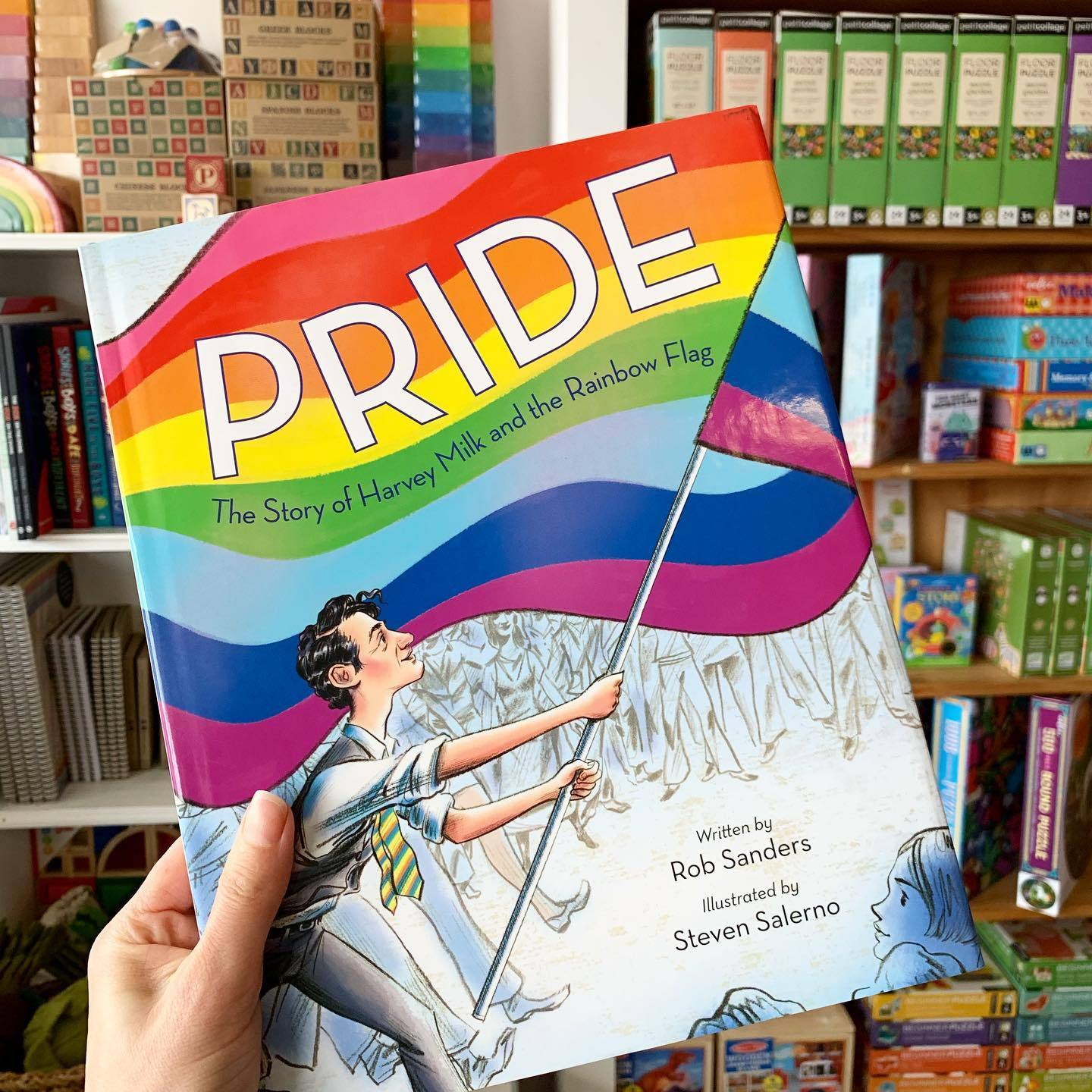 Pride Story Book Not specified Books at Little Earth Nest Eco Shop