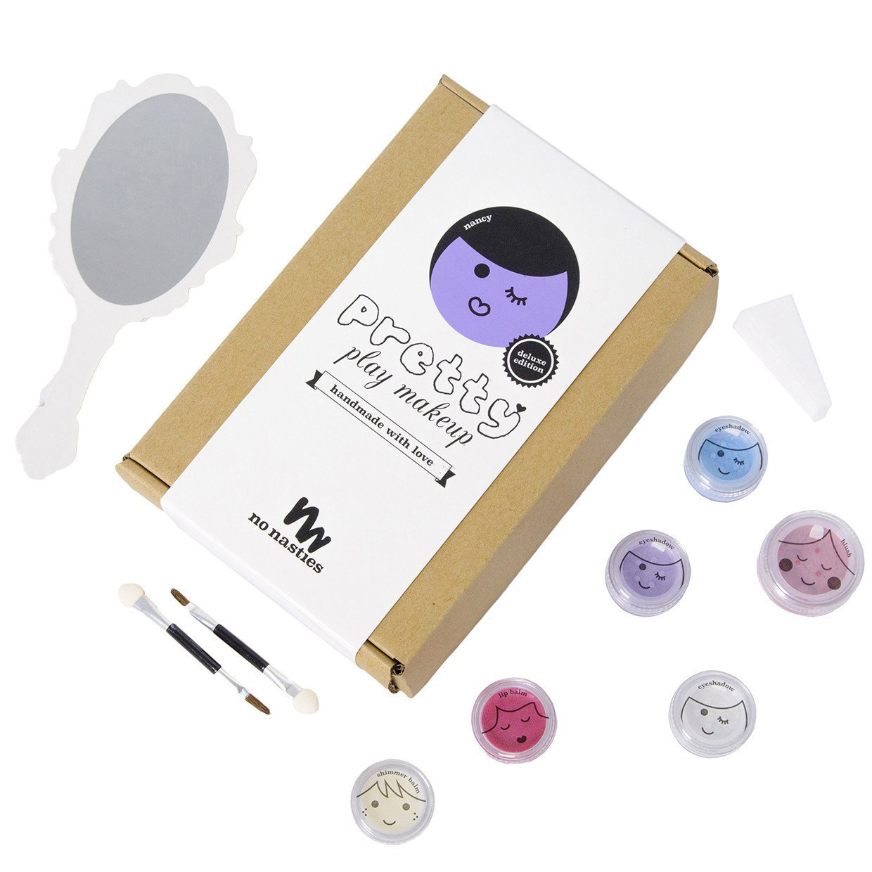No Nasties Natural Play Make Up No Nasties Play Make Up Deluxe Pack / Purple at Little Earth Nest Eco Shop