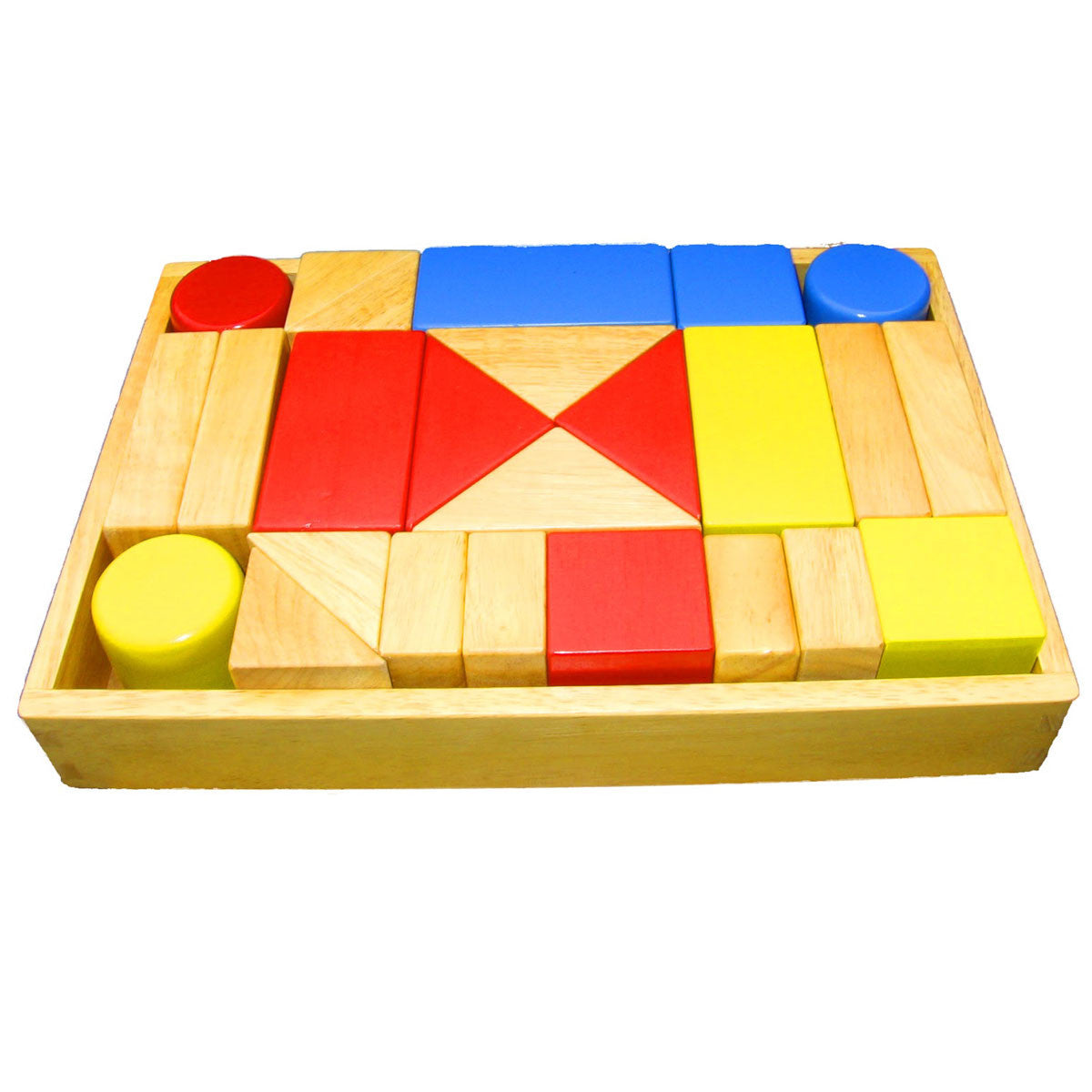 QToys Wooden Sound Blocks QToys Wooden Blocks 25 Pieces at Little Earth Nest Eco Shop