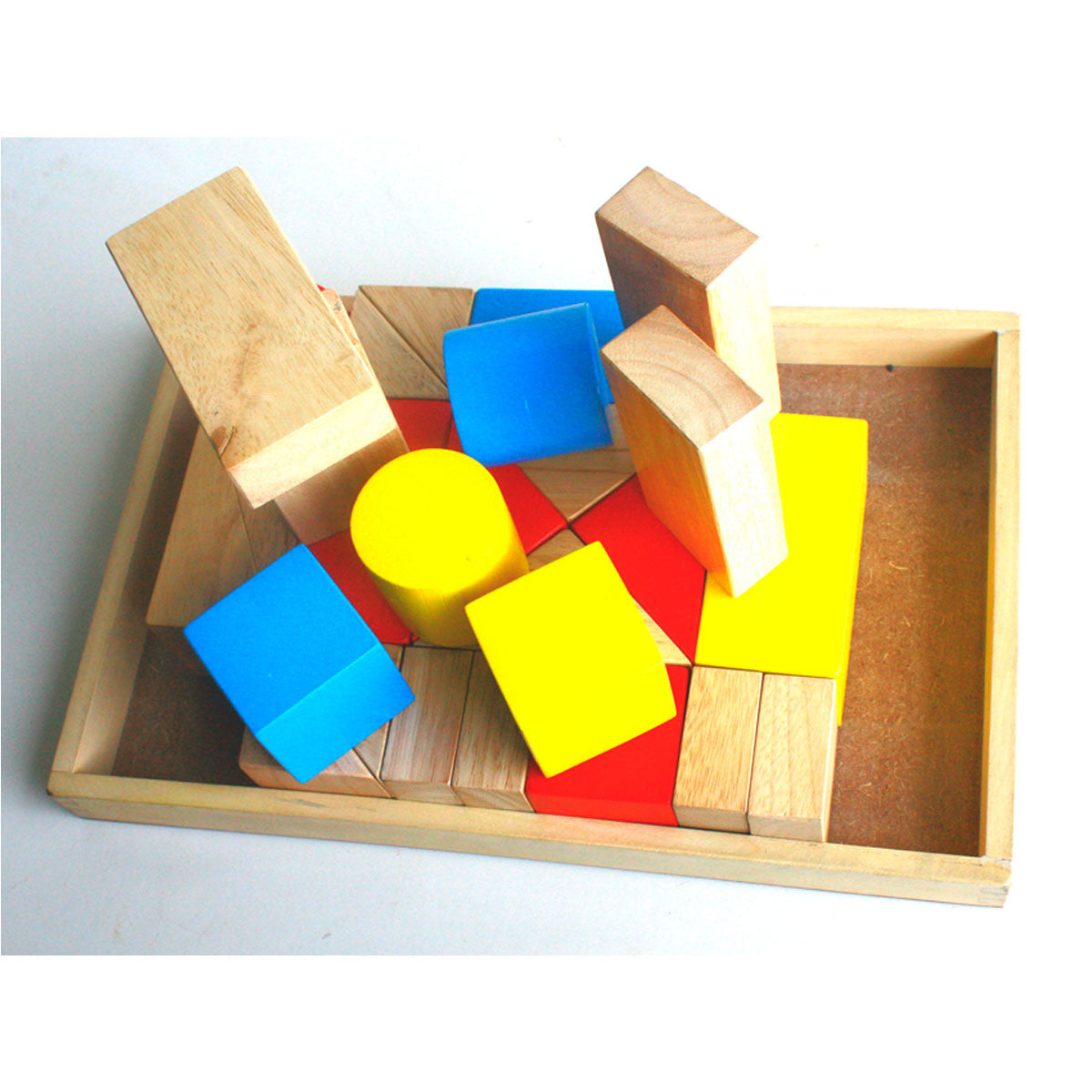 QToys Wooden Sound Blocks QToys Wooden Blocks at Little Earth Nest Eco Shop