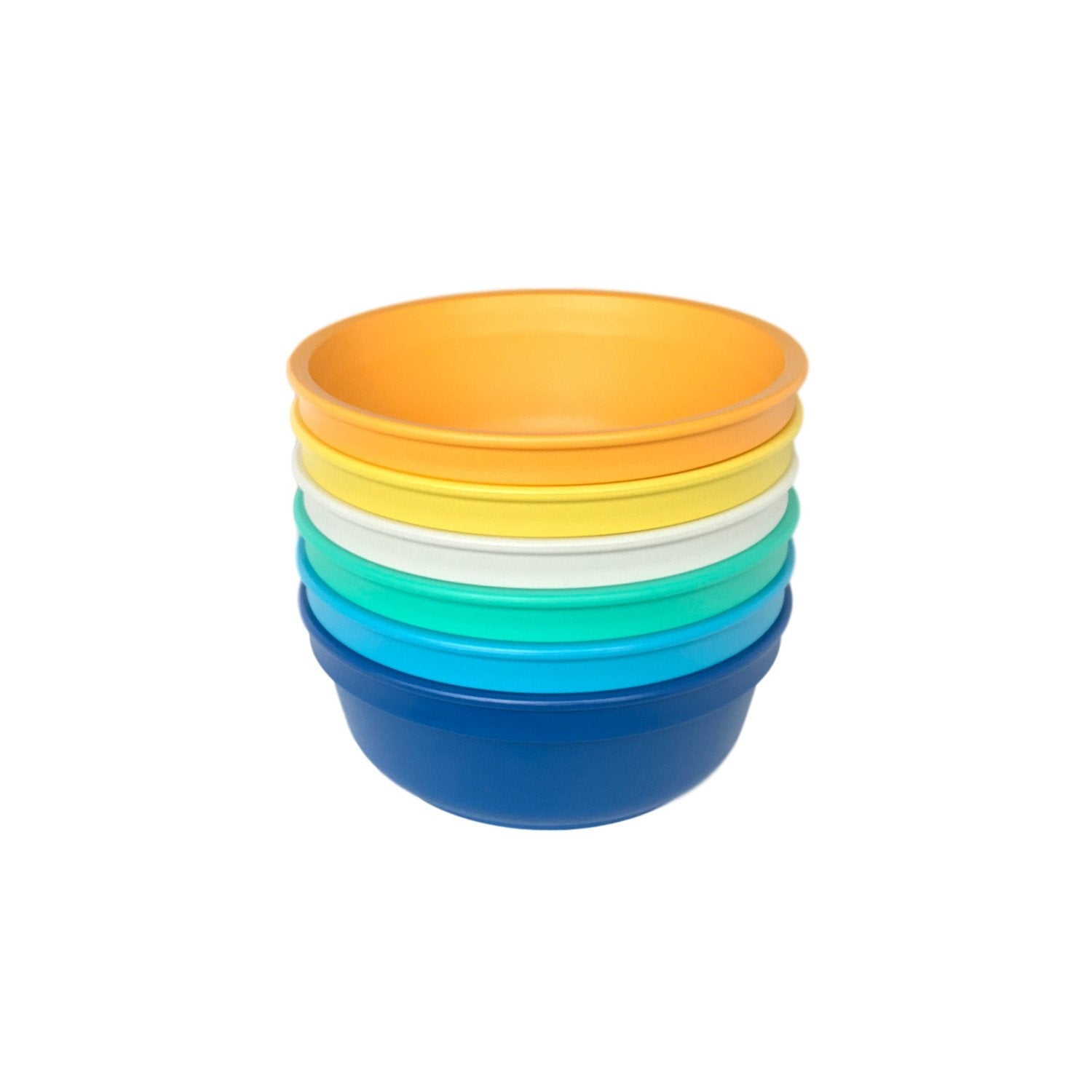 Replay 6 Piece Sets in Beach Replay Dinnerware Bowl at Little Earth Nest Eco Shop