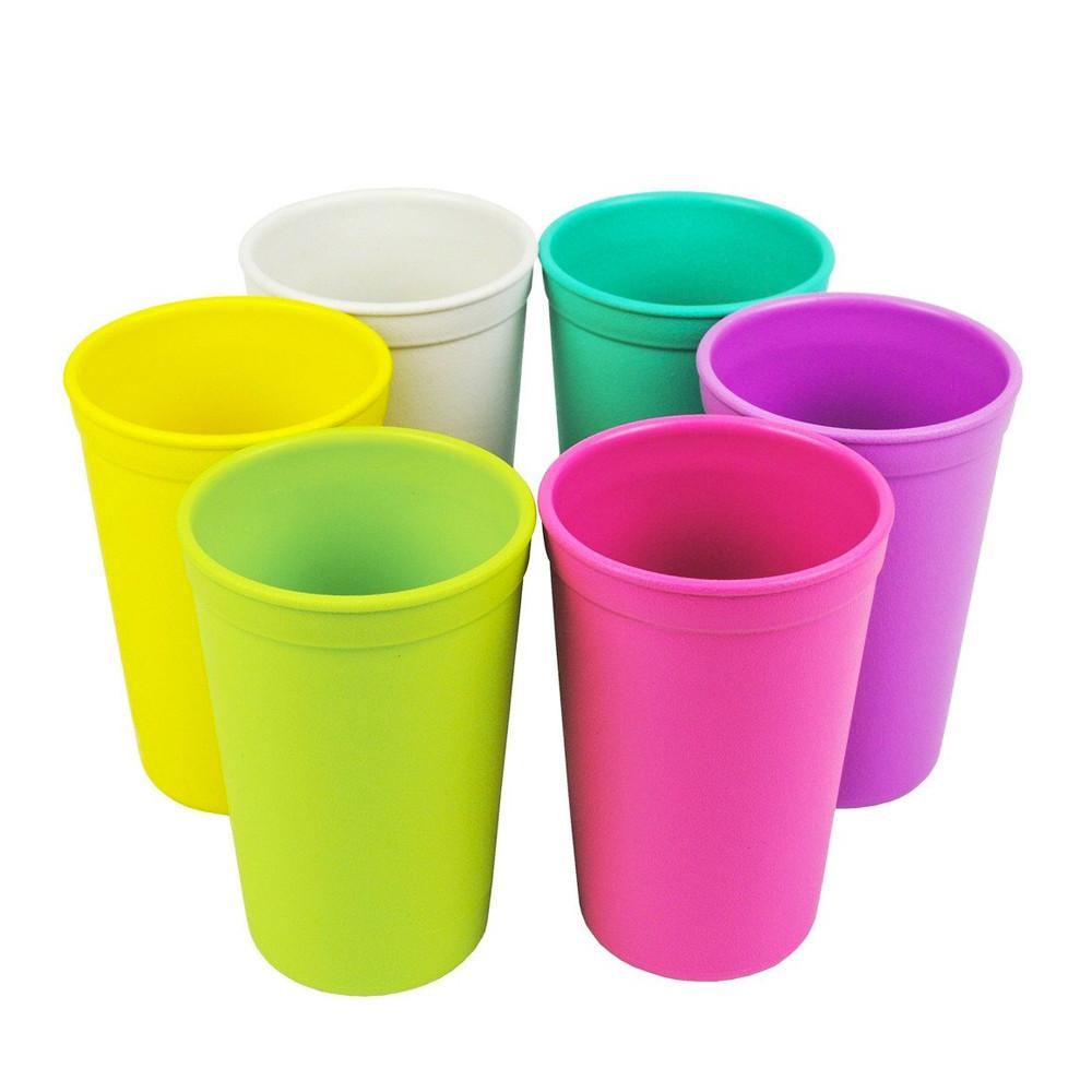 Replay 6 Piece Sets in Bright Replay Dinnerware Tumbler at Little Earth Nest Eco Shop