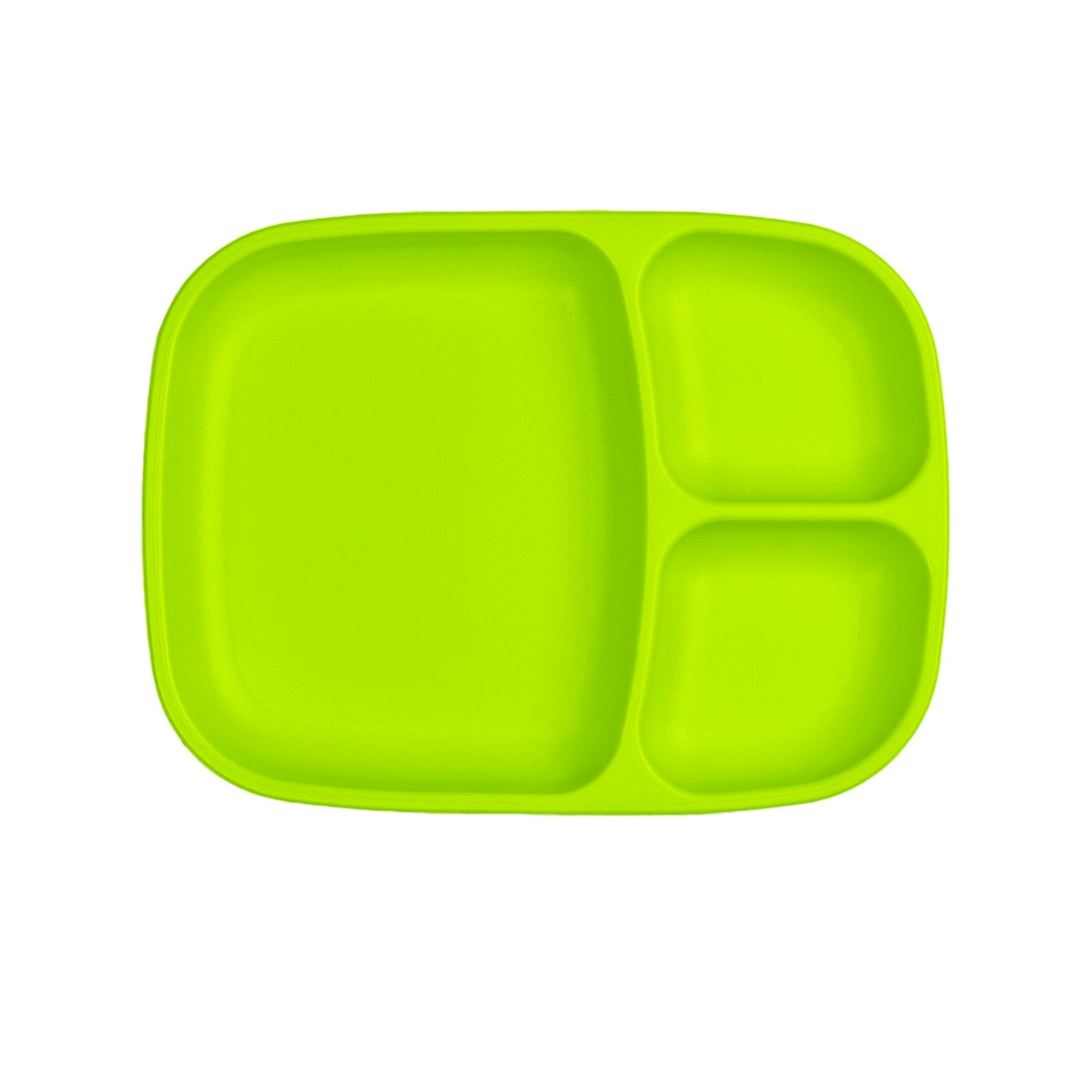 Replay Large Divided Plate Replay Dinnerware Green at Little Earth Nest Eco Shop