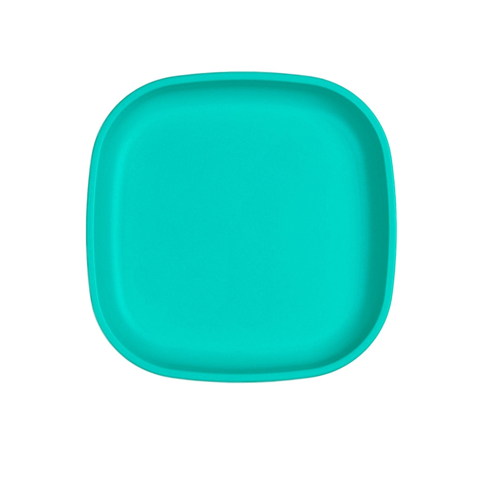 Replay Large Plate Replay Dinnerware Aqua at Little Earth Nest Eco Shop