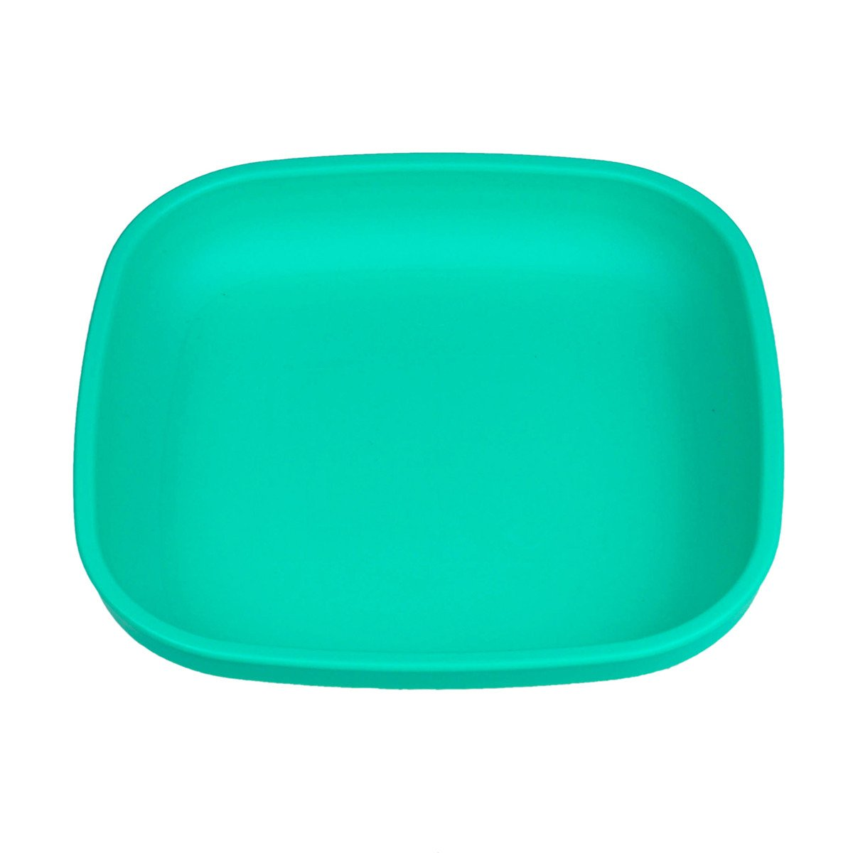 Replay Plate Replay Dinnerware Aqua at Little Earth Nest Eco Shop