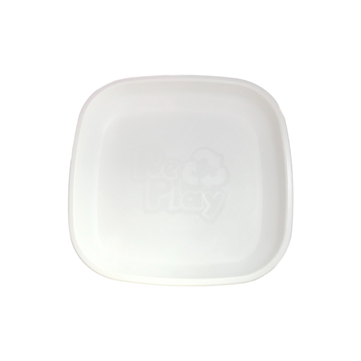 Replay Plate Replay Dinnerware White at Little Earth Nest Eco Shop