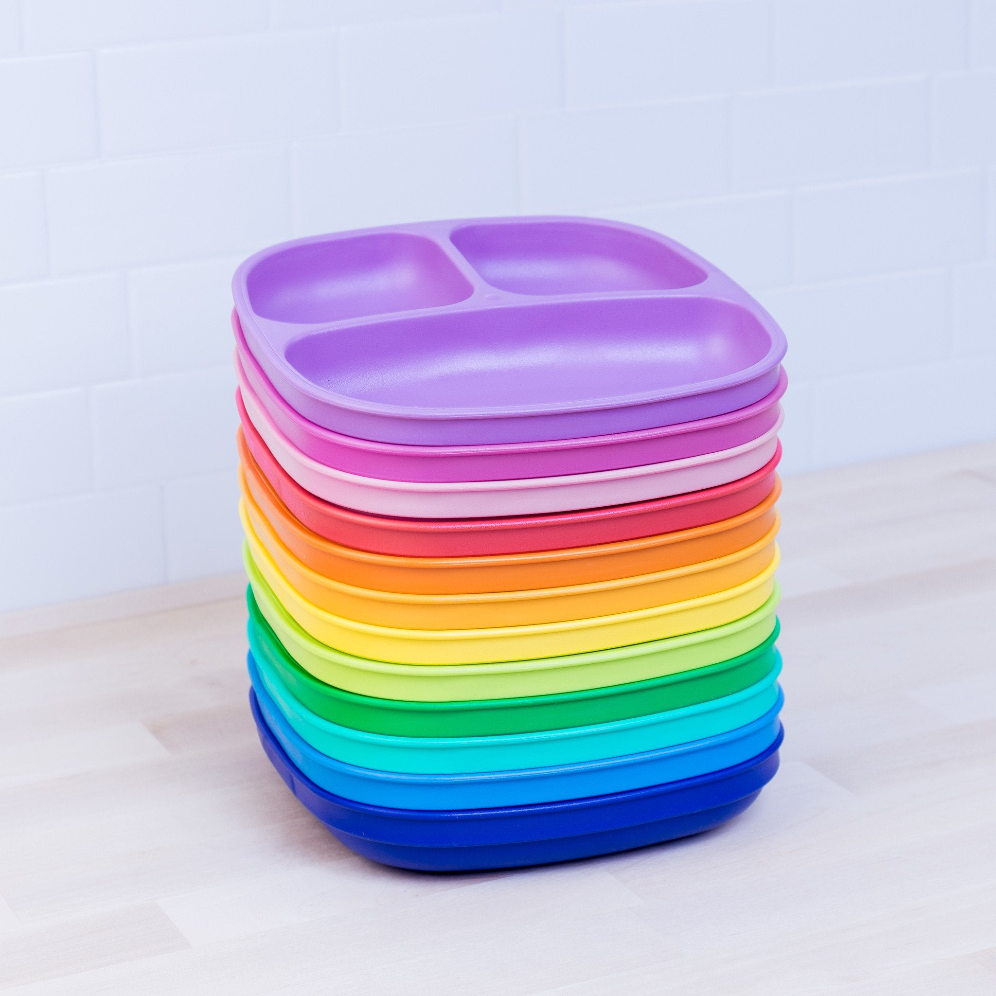 Replay 12 Piece Sets Rainbow Replay Dinnerware at Little Earth Nest Eco Shop