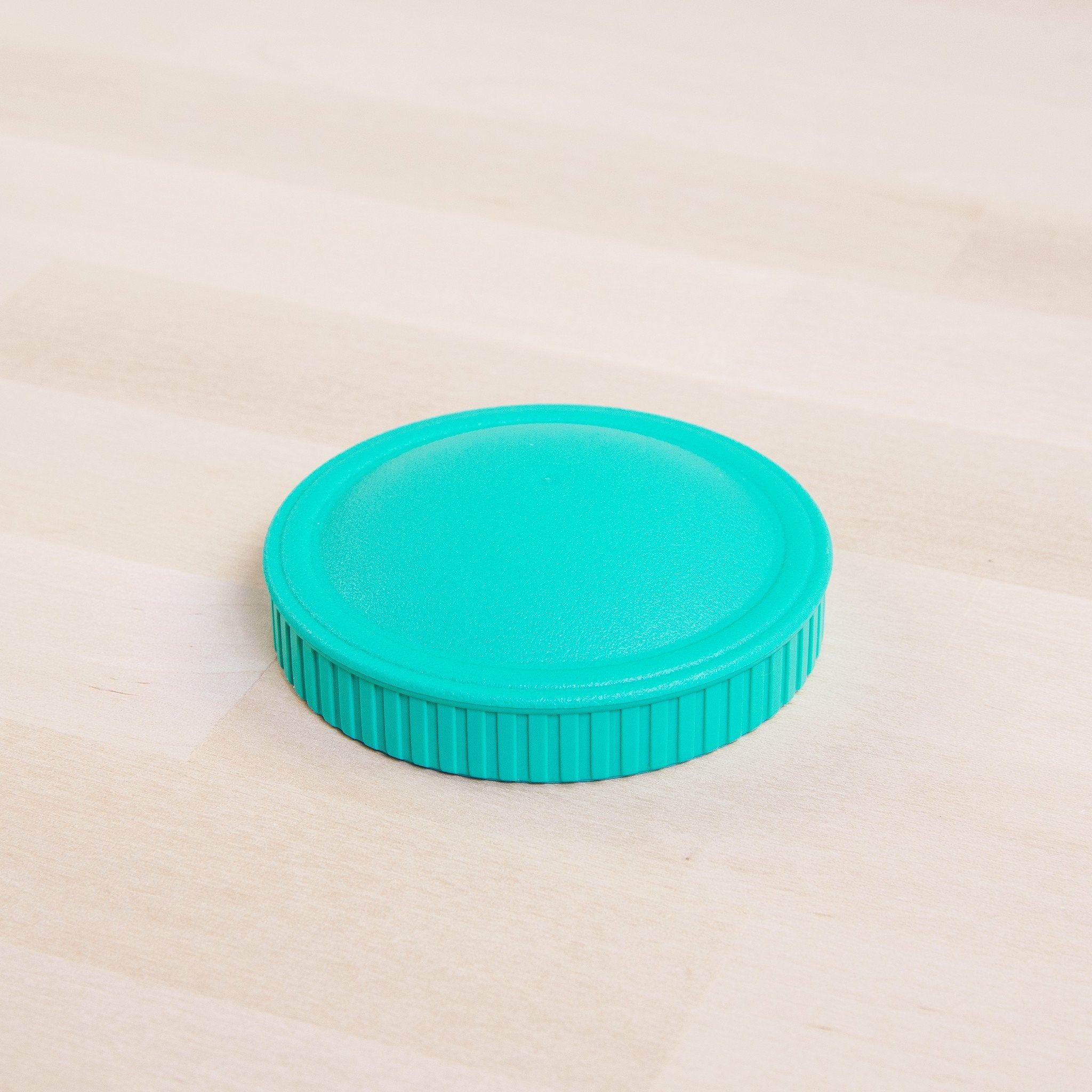 Replay Spare Snack Stack Lids Replay Dinnerware Aqua at Little Earth Nest Eco Shop