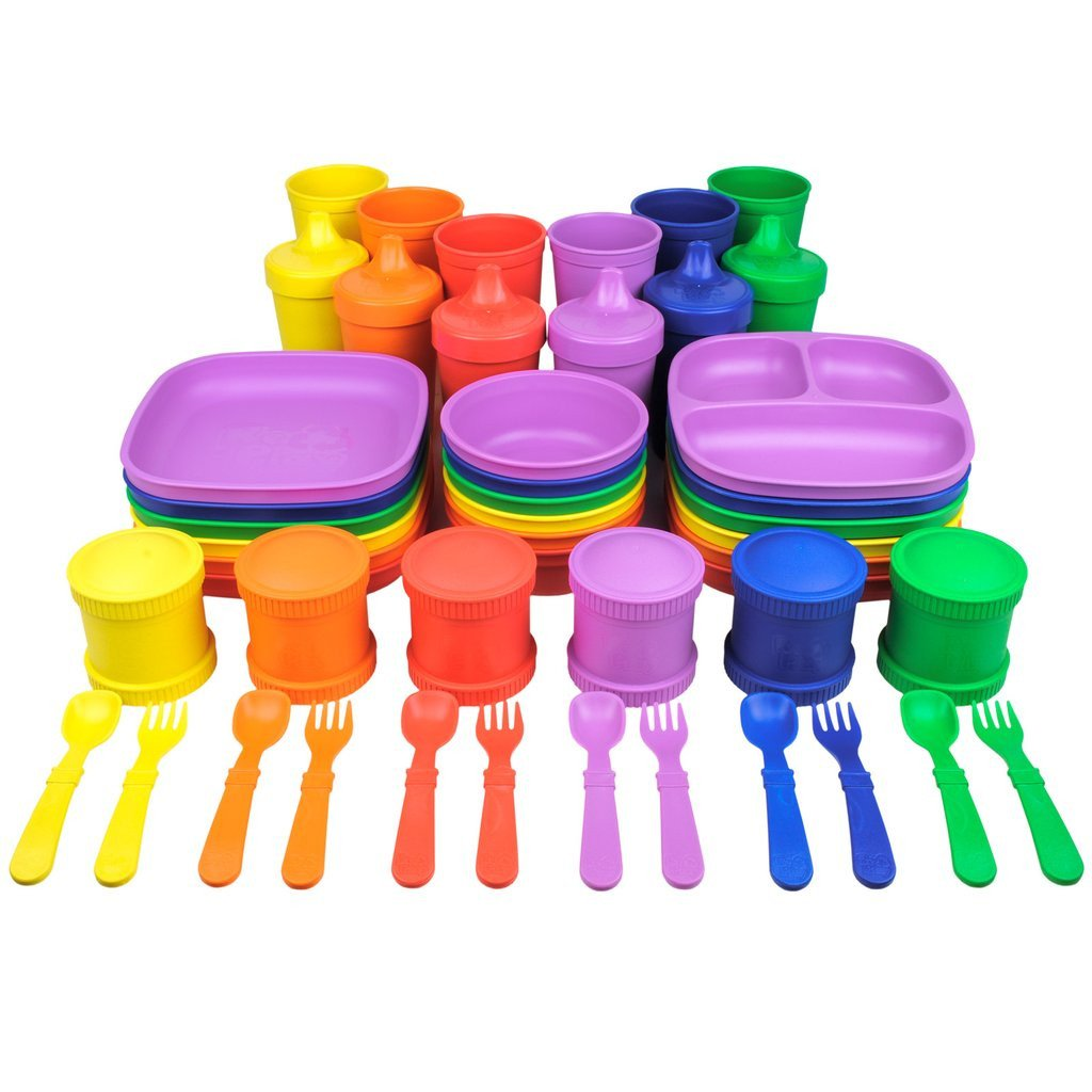 Replay Complete Crayon Box Collection Replay Dinnerware at Little Earth Nest Eco Shop