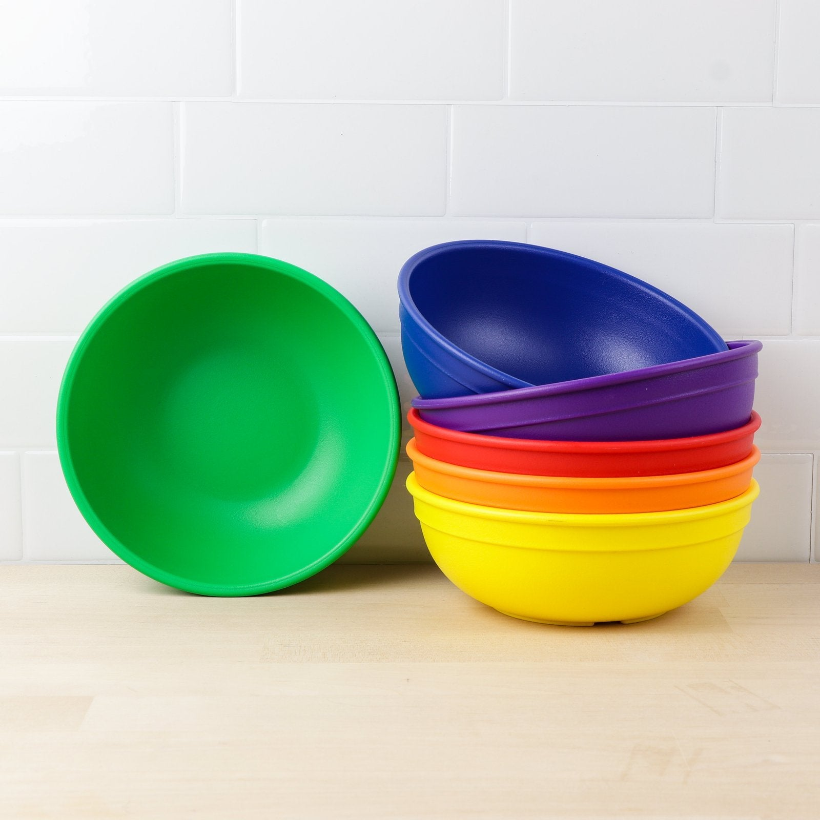 Replay 6 Piece Sets Crayon Box Replay Dinnerware Large Bowls at Little Earth Nest Eco Shop