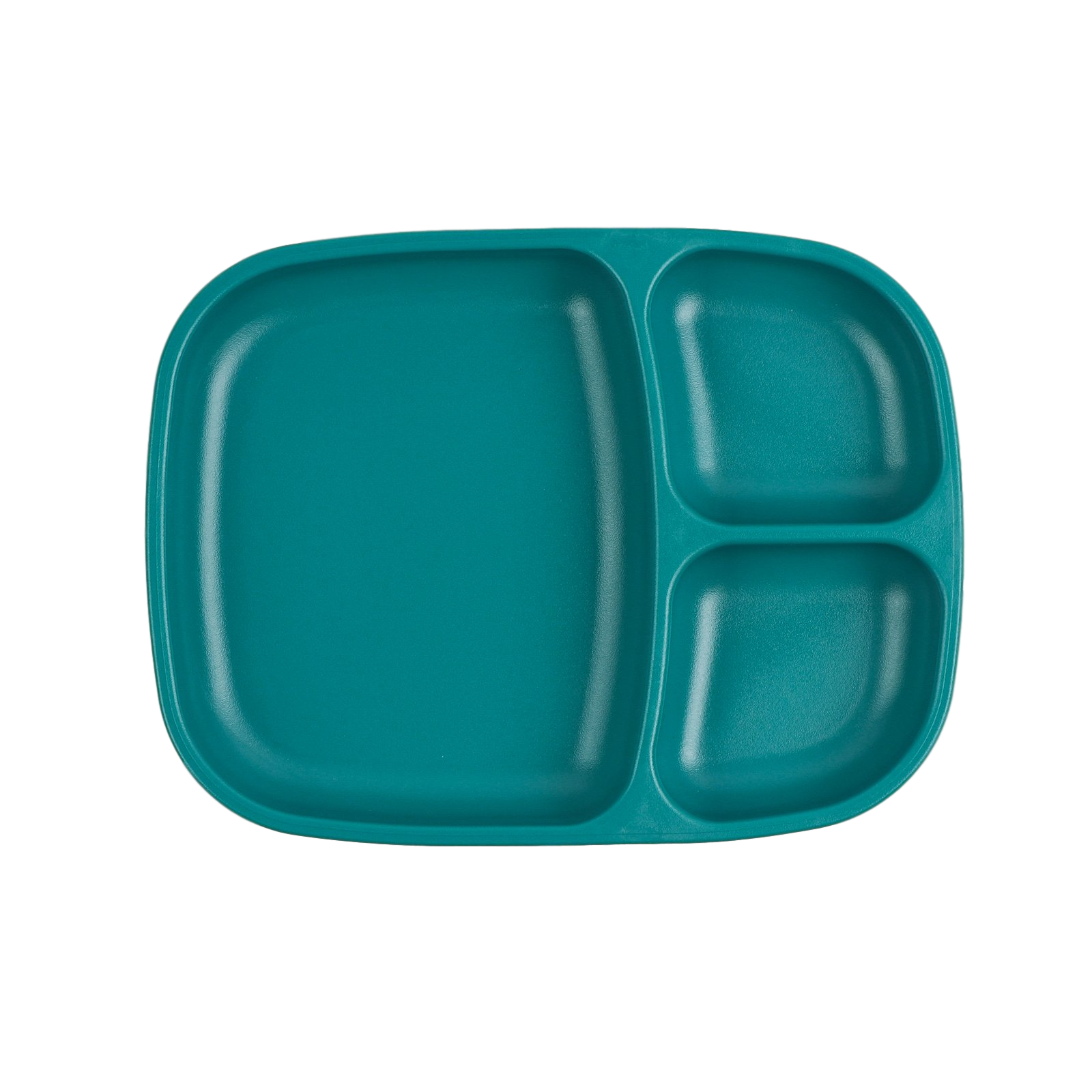 Replay Large Divided Plate Replay Dinnerware Teal at Little Earth Nest Eco Shop