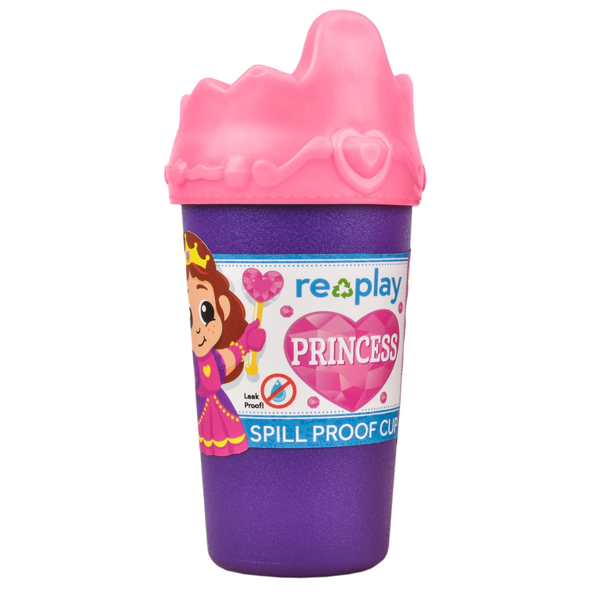 Replay Princess Sippy Cup Replay Dinnerware at Little Earth Nest Eco Shop