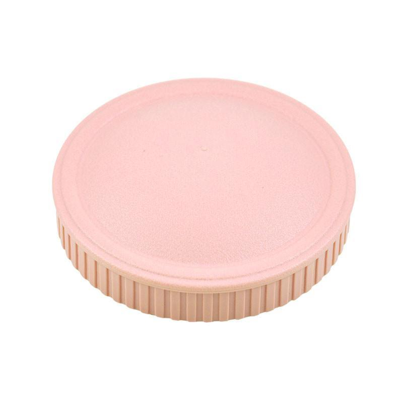 Replay Spare Snack Stack Lids Replay Dinnerware Baby Pink at Little Earth Nest Eco Shop