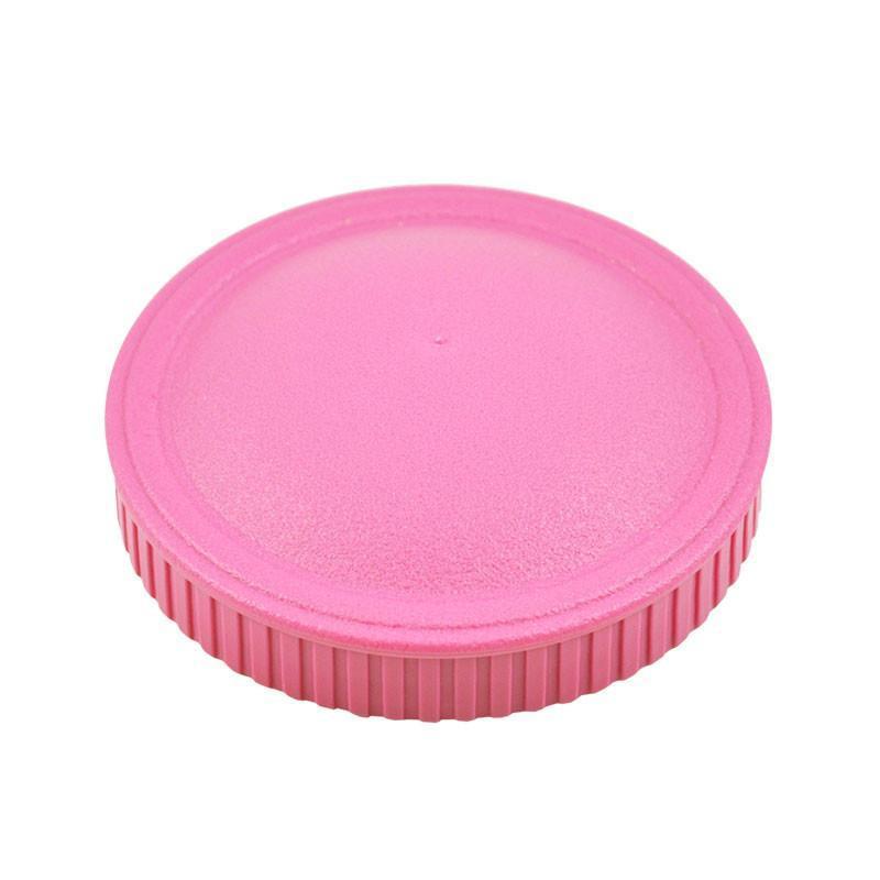Replay Spare Snack Stack Lids Replay Dinnerware Bright Pink at Little Earth Nest Eco Shop