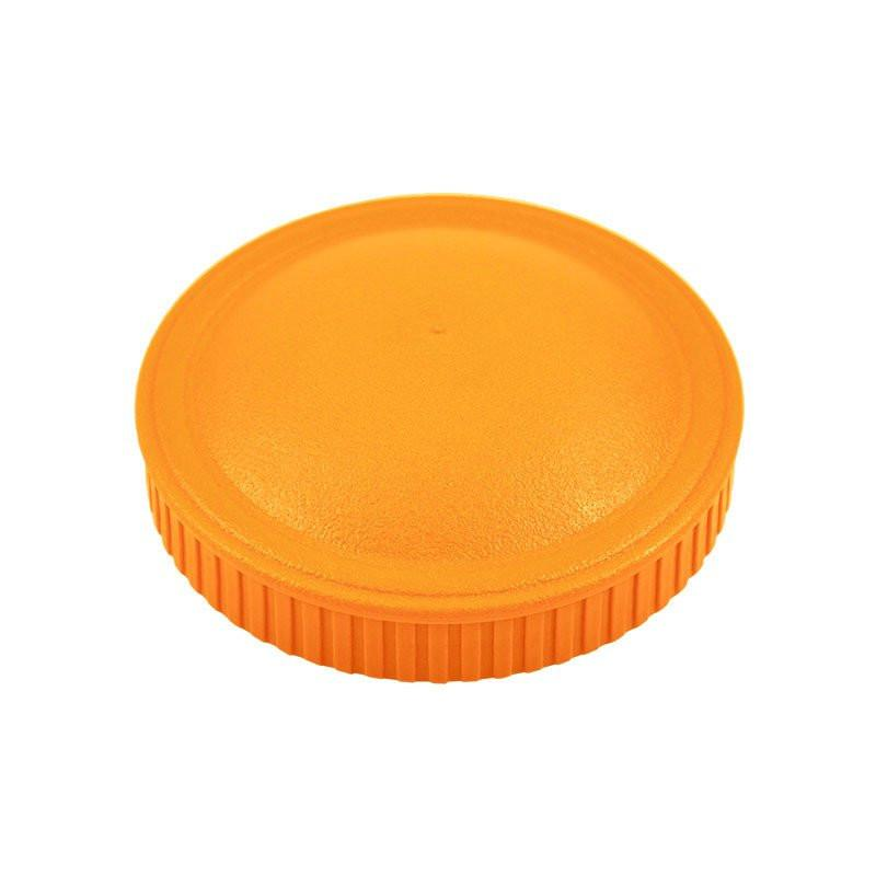 Replay Spare Snack Stack Lids Replay Dinnerware Orange at Little Earth Nest Eco Shop