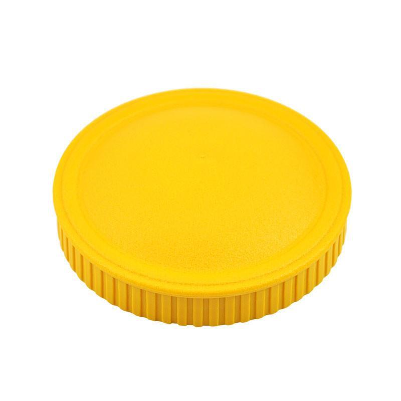 Replay Spare Snack Stack Lids Replay Dinnerware Sunny Yellow at Little Earth Nest Eco Shop
