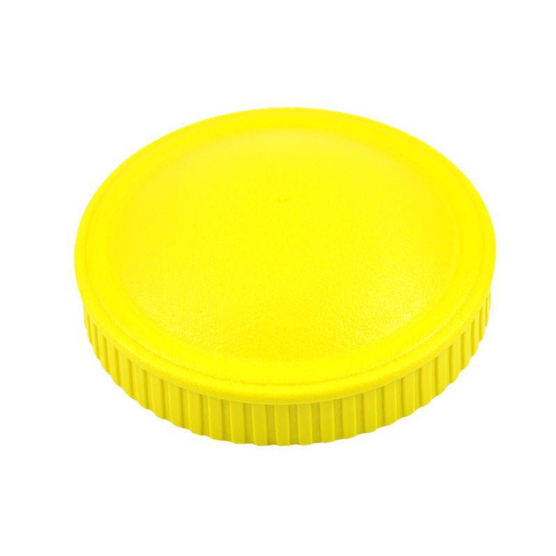 Replay Spare Snack Stack Lids Replay Dinnerware Yellow at Little Earth Nest Eco Shop