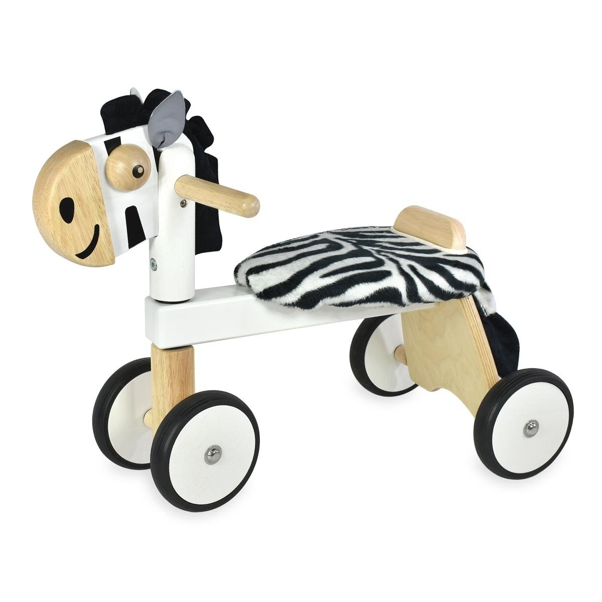 Zebra Rider Ride-On Tiger Im Toy Kids Riding Vehicles at Little Earth Nest Eco Shop