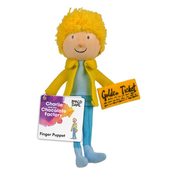Boutique Finger Puppets Fiesta Crafts Toys Roald Dahl Charlie Bucket at Little Earth Nest Eco Shop