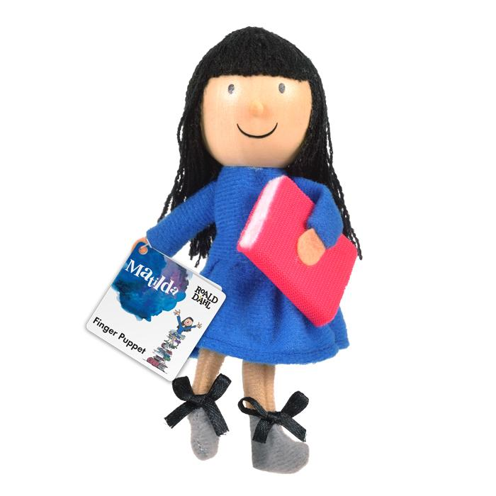 Boutique Finger Puppets Fiesta Crafts Toys Roald Dahl Matilda at Little Earth Nest Eco Shop