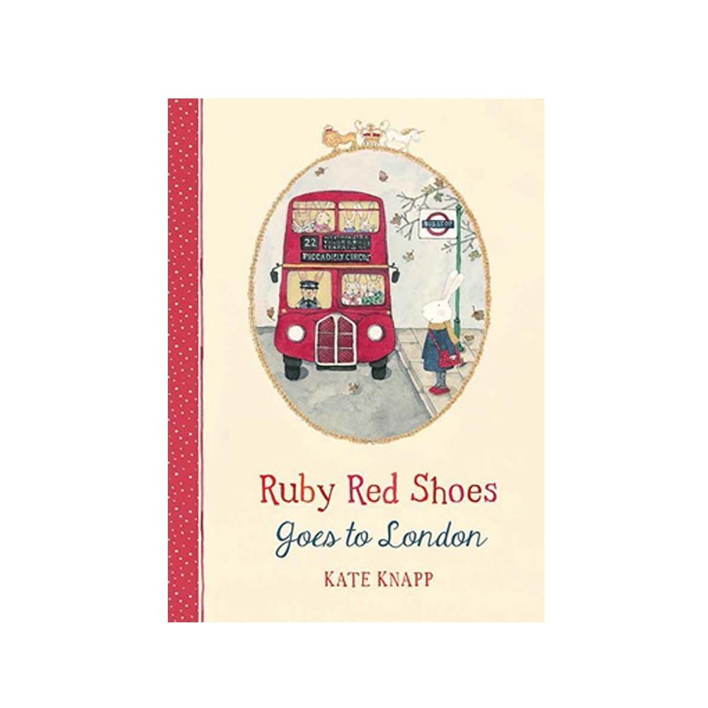 Ruby Red Shoes Goes To London Book Little Earth Nest Books at Little Earth Nest Eco Shop