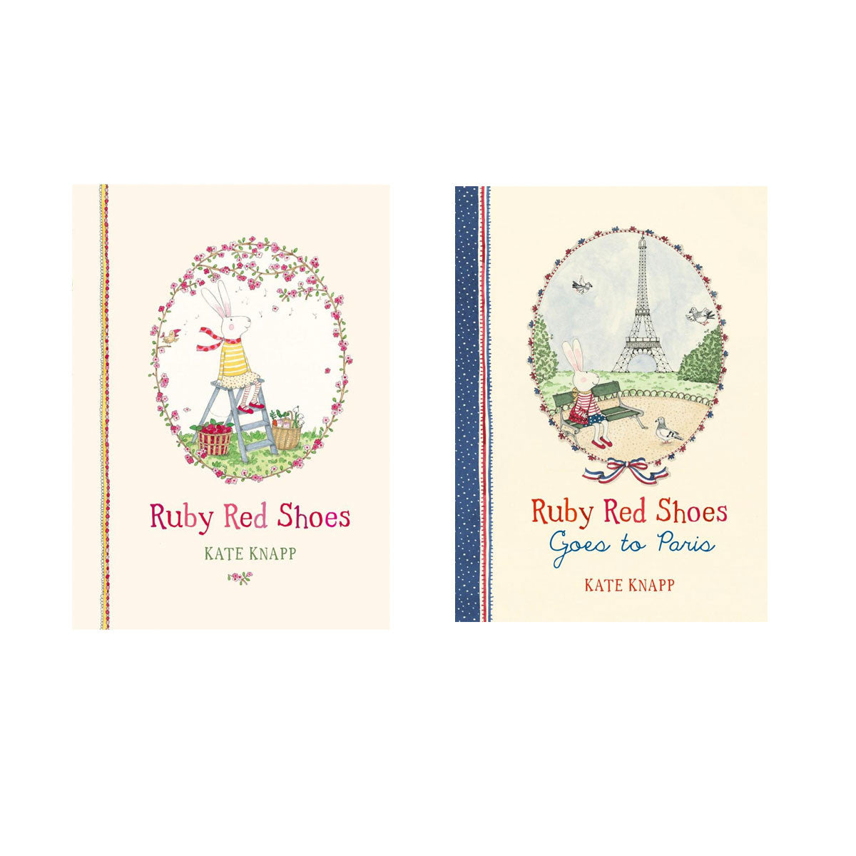 Ruby Red Shoes My Storybook Suitcase Little Earth Nest Books at Little Earth Nest Eco Shop