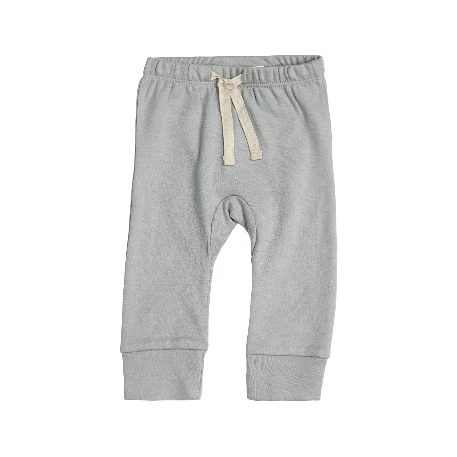 Sapling Child Essentials Heart Pants Sapling Child Baby & Toddler Clothing 3-6M / Dove Grey at Little Earth Nest Eco Shop