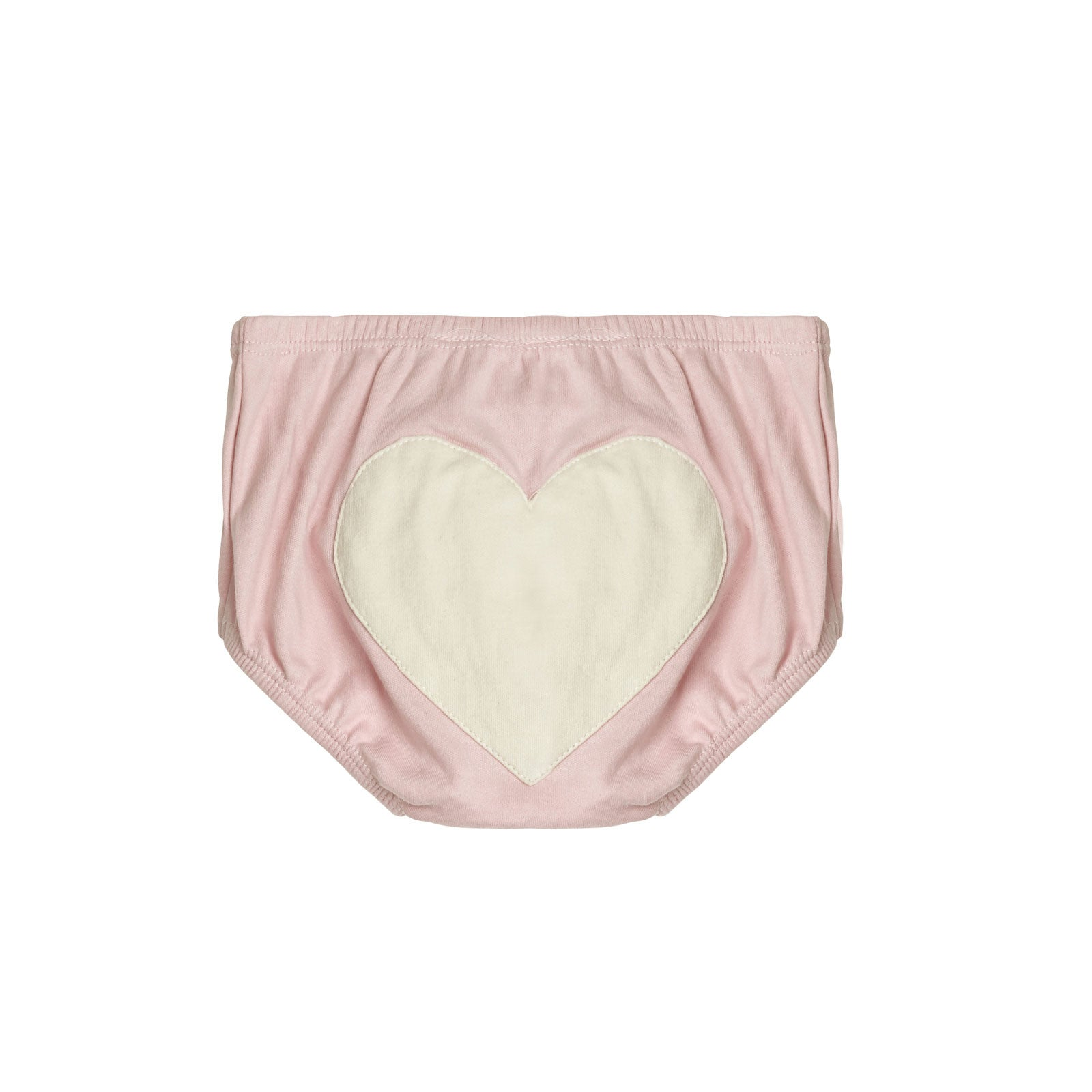 Sapling Child Essentials Heart Bloomers  0-3M / Dusty Pink - Sapling Child - Little Earth Nest - 4