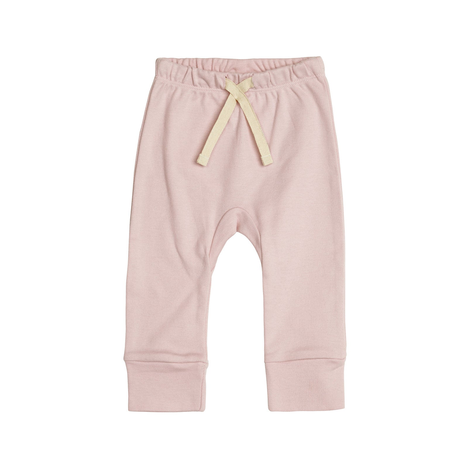 Sapling Child Essentials Heart Pants Sapling Child Baby & Toddler Clothing 0-3M / Dusty Pink at Little Earth Nest Eco Shop