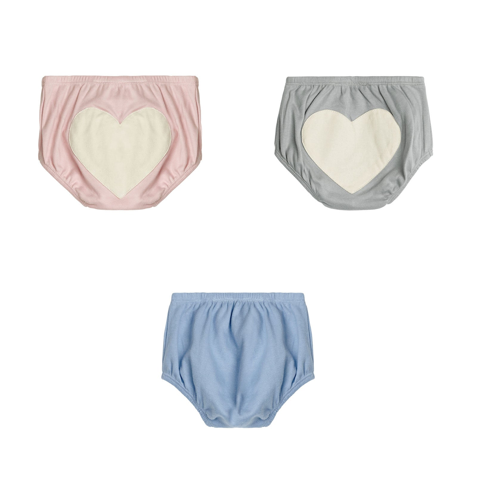 Sapling Child Essentials Heart Bloomers Sapling Child Baby & Toddler Clothing at Little Earth Nest Eco Shop