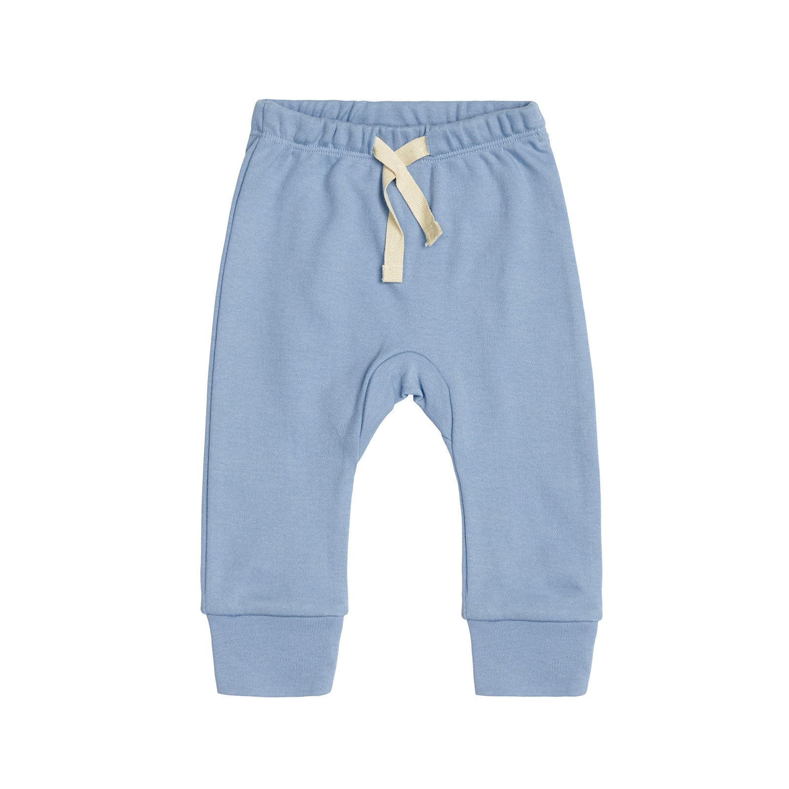 Sapling Child Essentials Heart Pants Sapling Child Baby & Toddler Clothing 0-3M / Little Boy Blue at Little Earth Nest Eco Shop