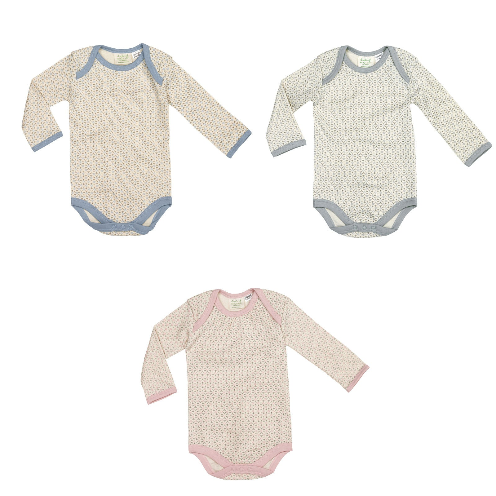 Sapling Child Essentials Long Sleeve Bodysuit Sapling Child General at Little Earth Nest Eco Shop