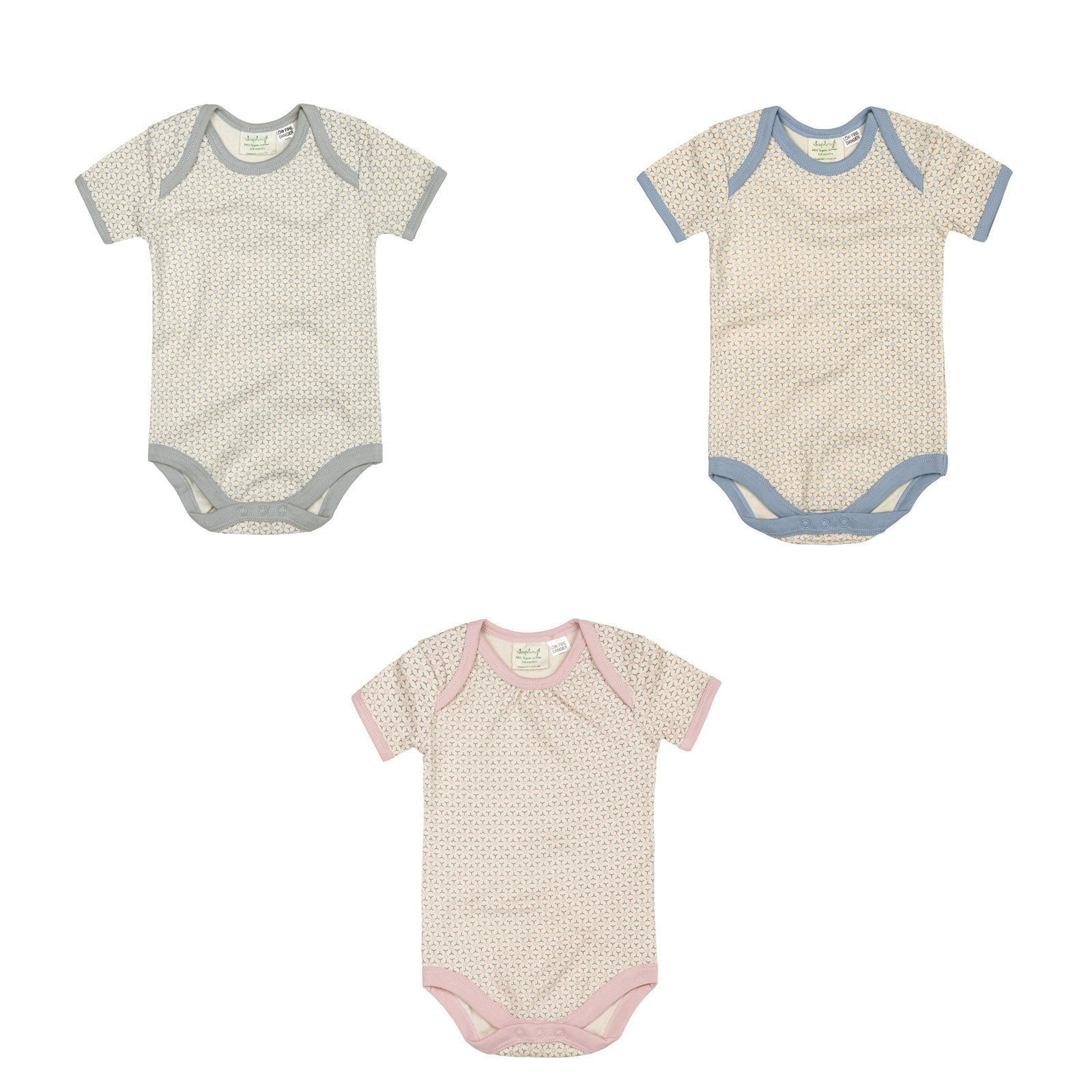Sapling Child Essentials Short Sleeve Bodysuit Sapling Child Baby & Toddler Clothing at Little Earth Nest Eco Shop