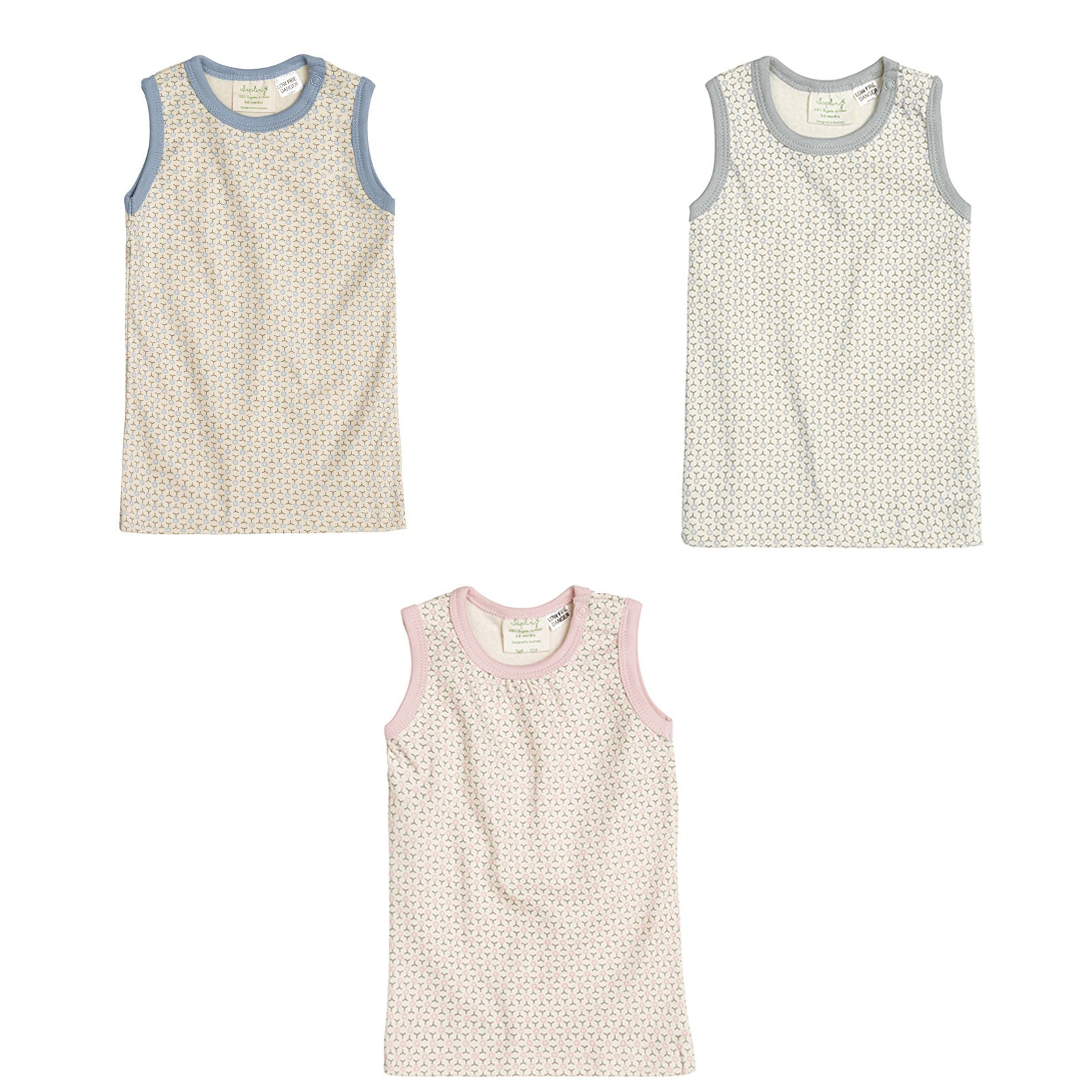 Sapling Child Essentials Tank Sapling Child Baby & Toddler Clothing at Little Earth Nest Eco Shop