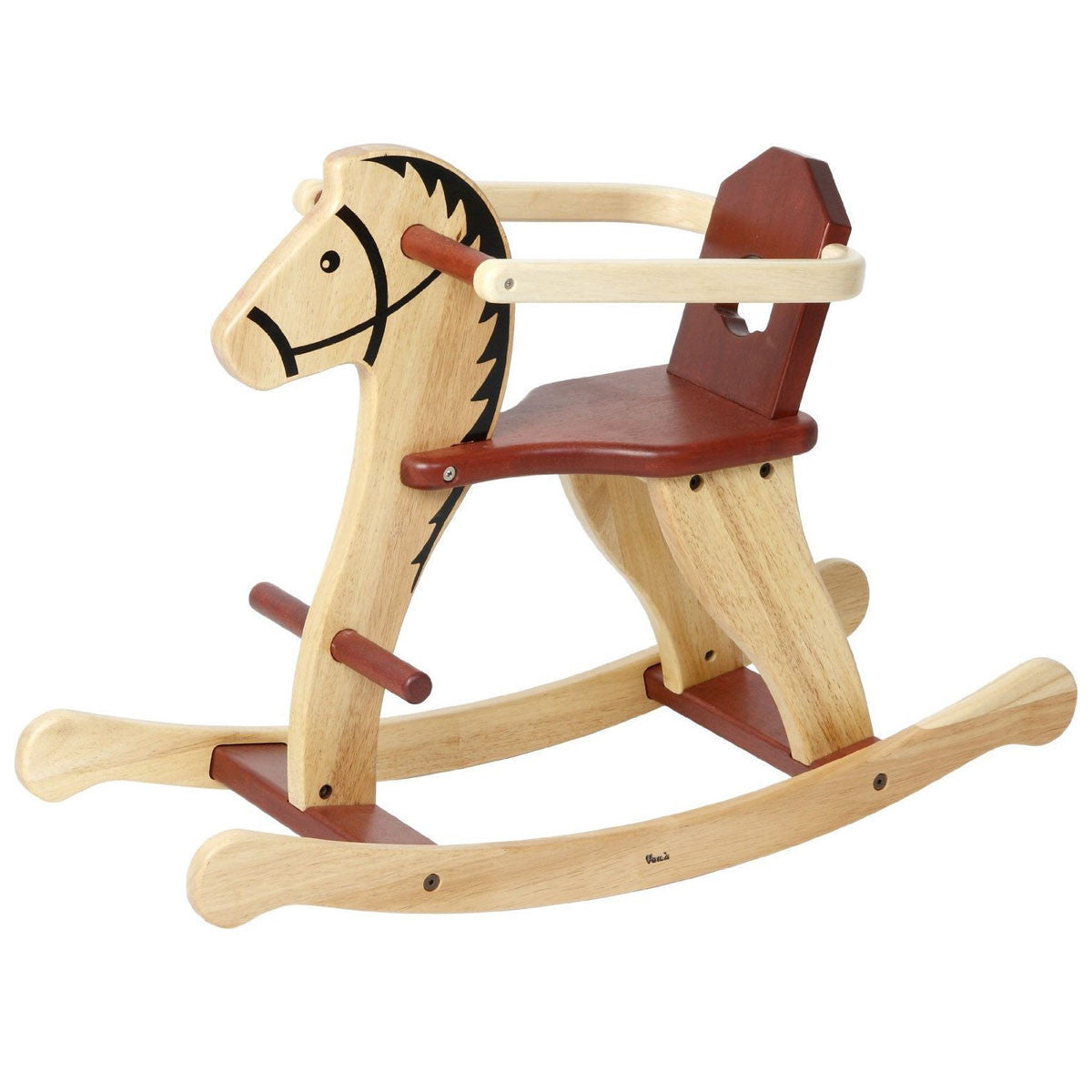 Shetland Wooden Rocking Horse Little Earth Nest Rocking Horses at Little Earth Nest Eco Shop