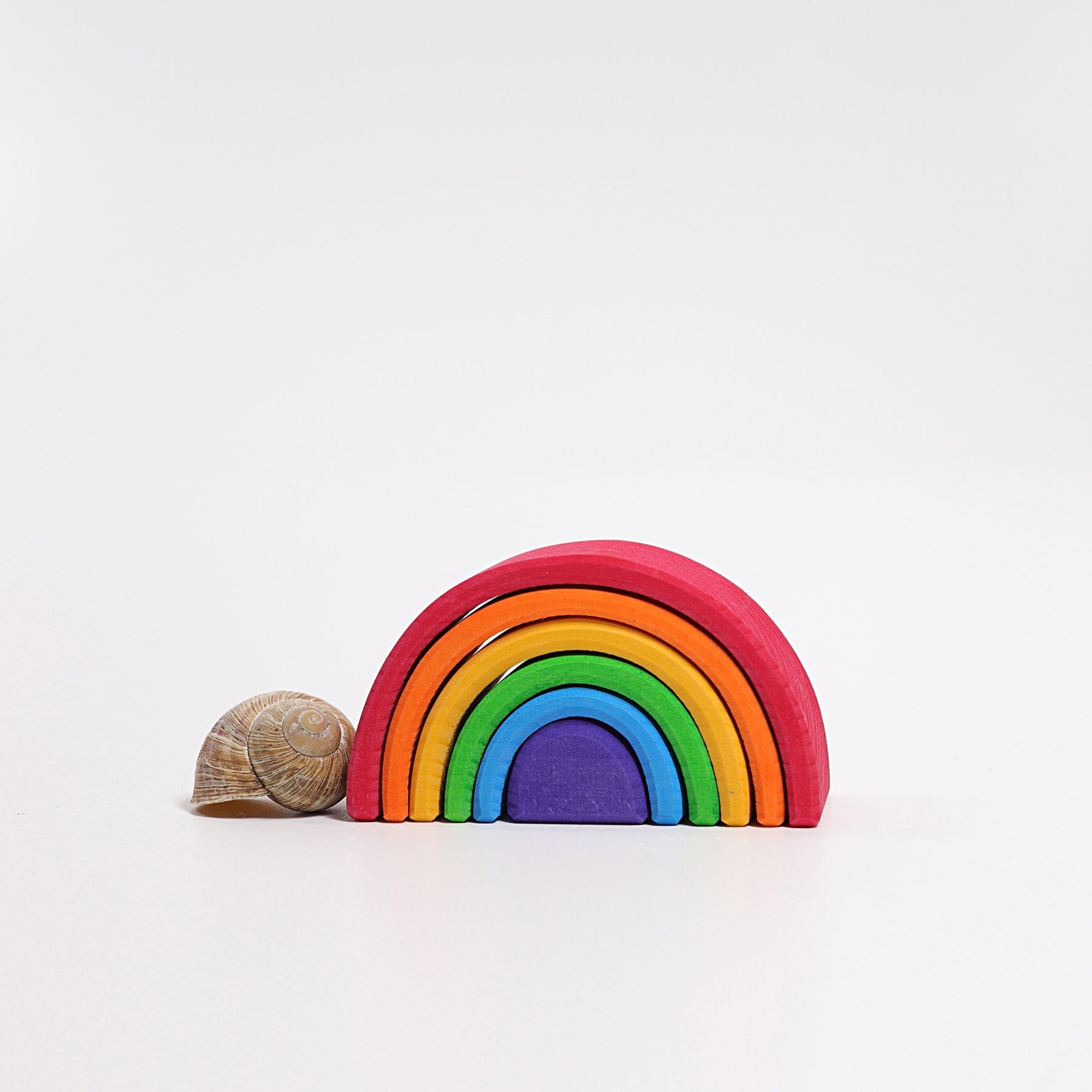 Grimms Rainbow Grimms Toys S / Bright at Little Earth Nest Eco Shop