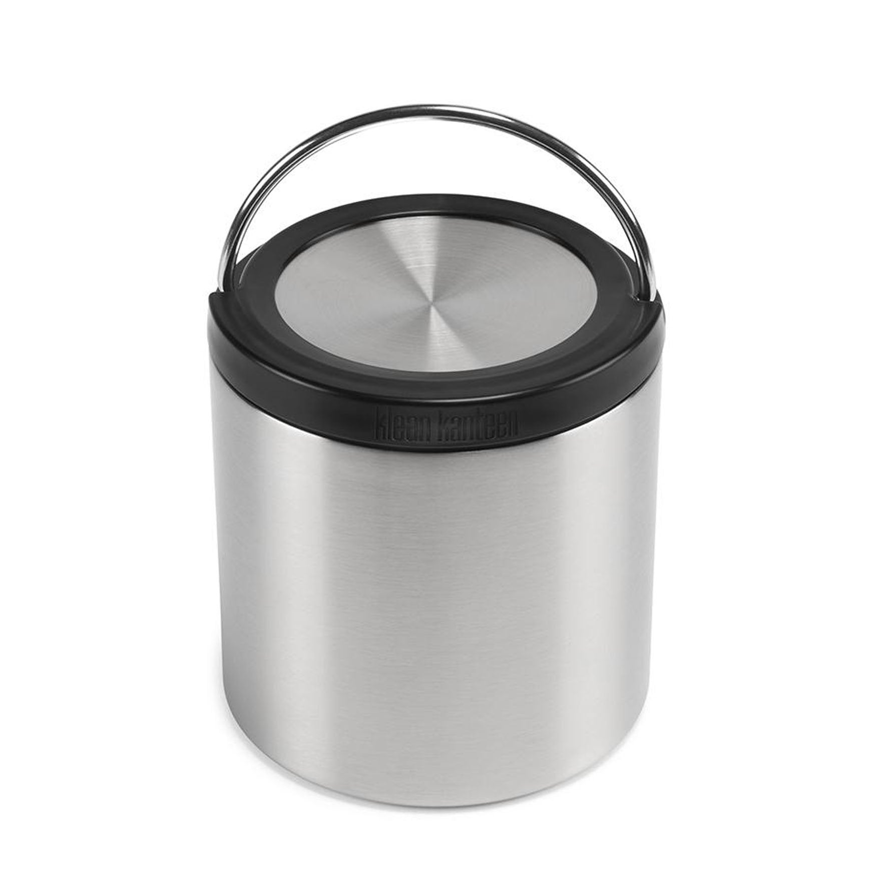 Klean Kanteen TKCanister with Insulated Lid Brushed Stainless 32oz 946ml Klean Kanteen Food Storage Containers at Little Earth Nest Eco Shop