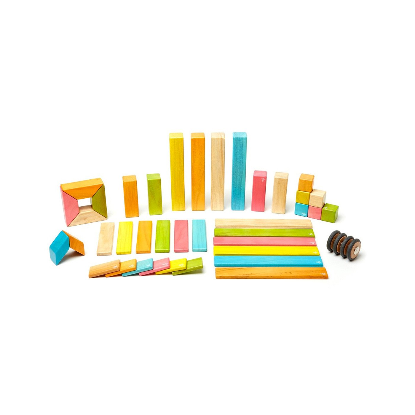 Tegu 42 Piece Set Magnetic Block Set Tegu Wooden Blocks at Little Earth Nest Eco Shop