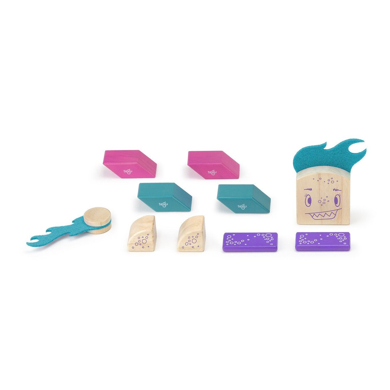 Tegu Sticky Monsters Tegu Magnet Toys at Little Earth Nest Eco Shop