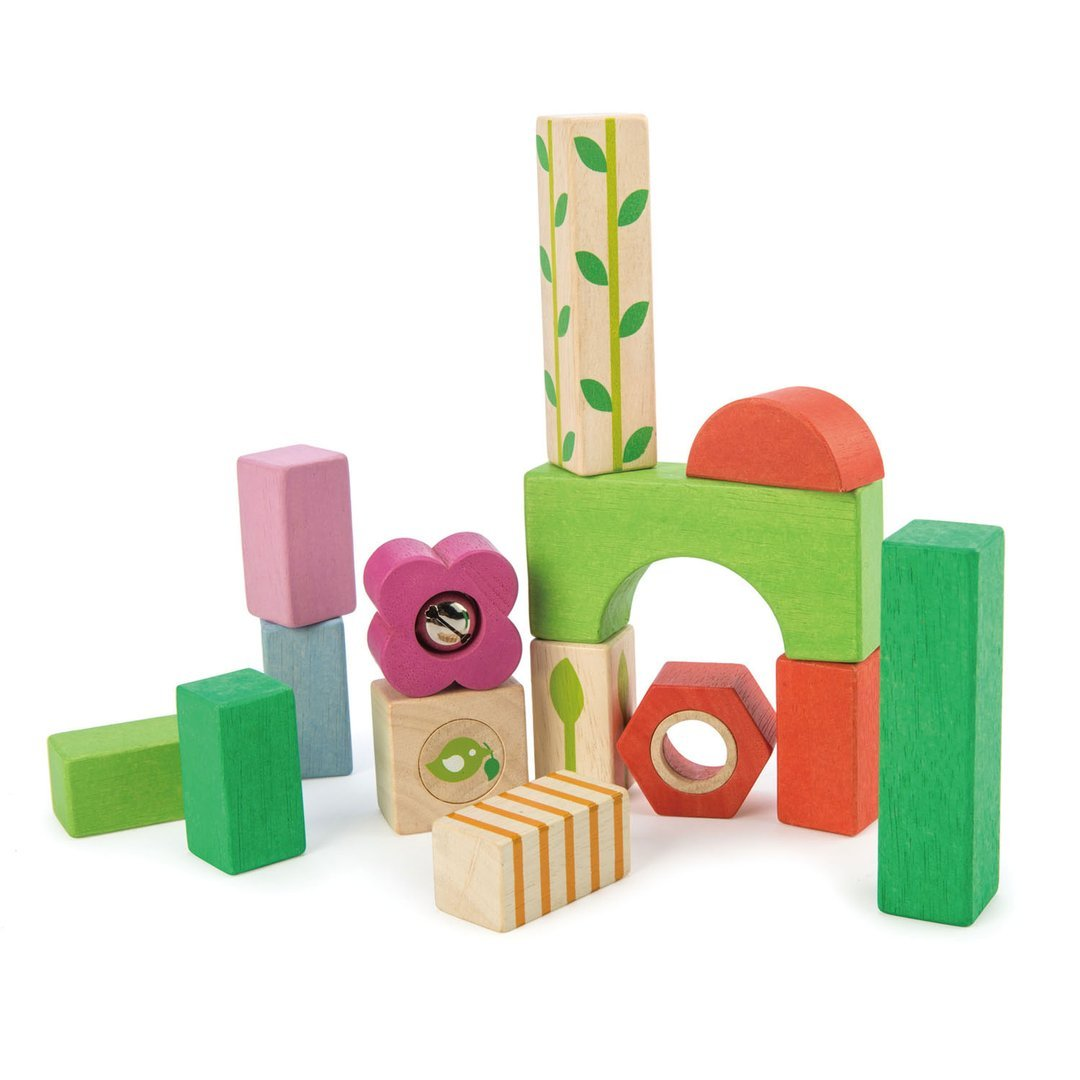 Wooden Blocks by Tenderleaf Toys Tenderleaf Toys Wooden Blocks at Little Earth Nest Eco Shop