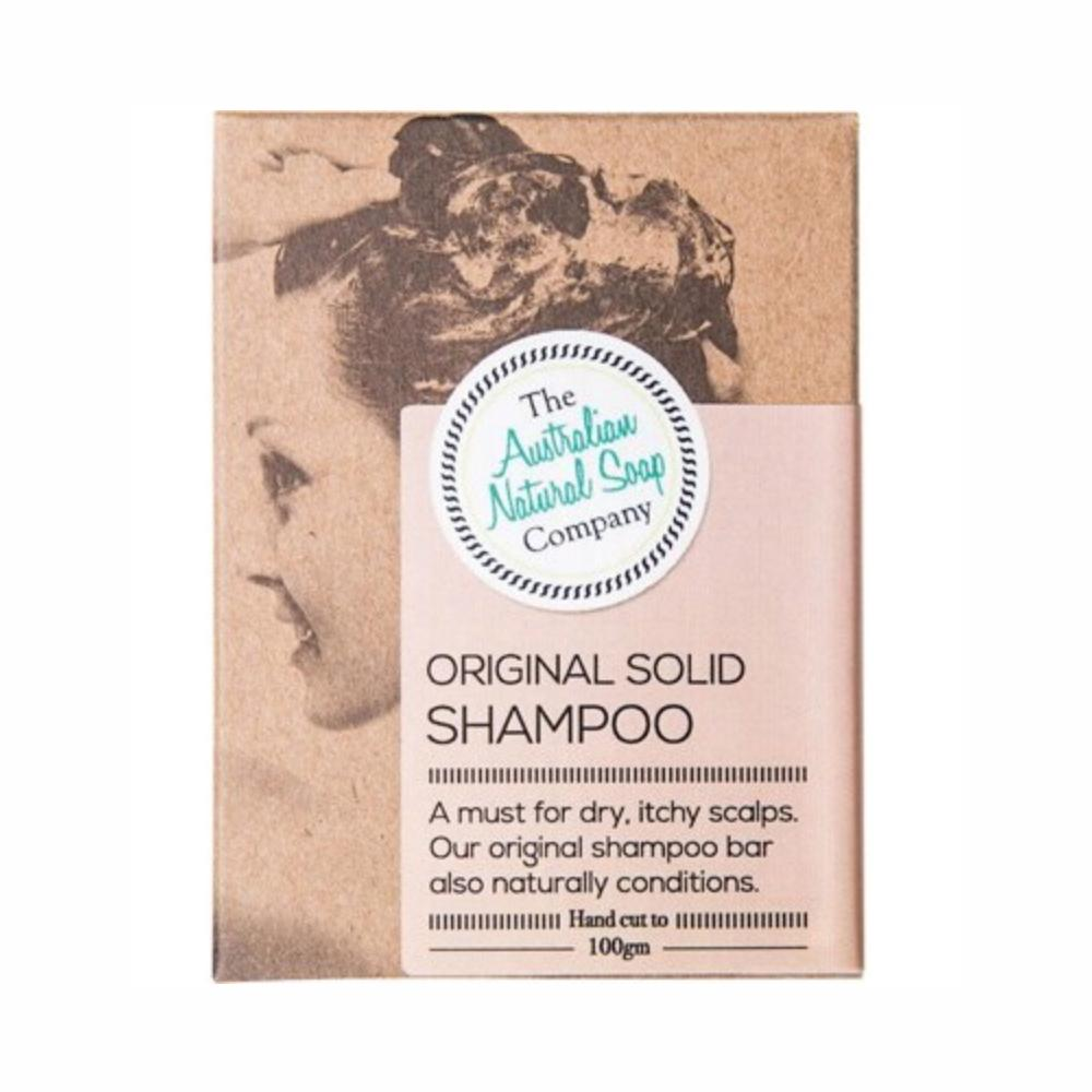 The Australian Natural Soap Co Shampoo Bar The Australian Natural Soap Co Hair Care Original at Little Earth Nest Eco Shop
