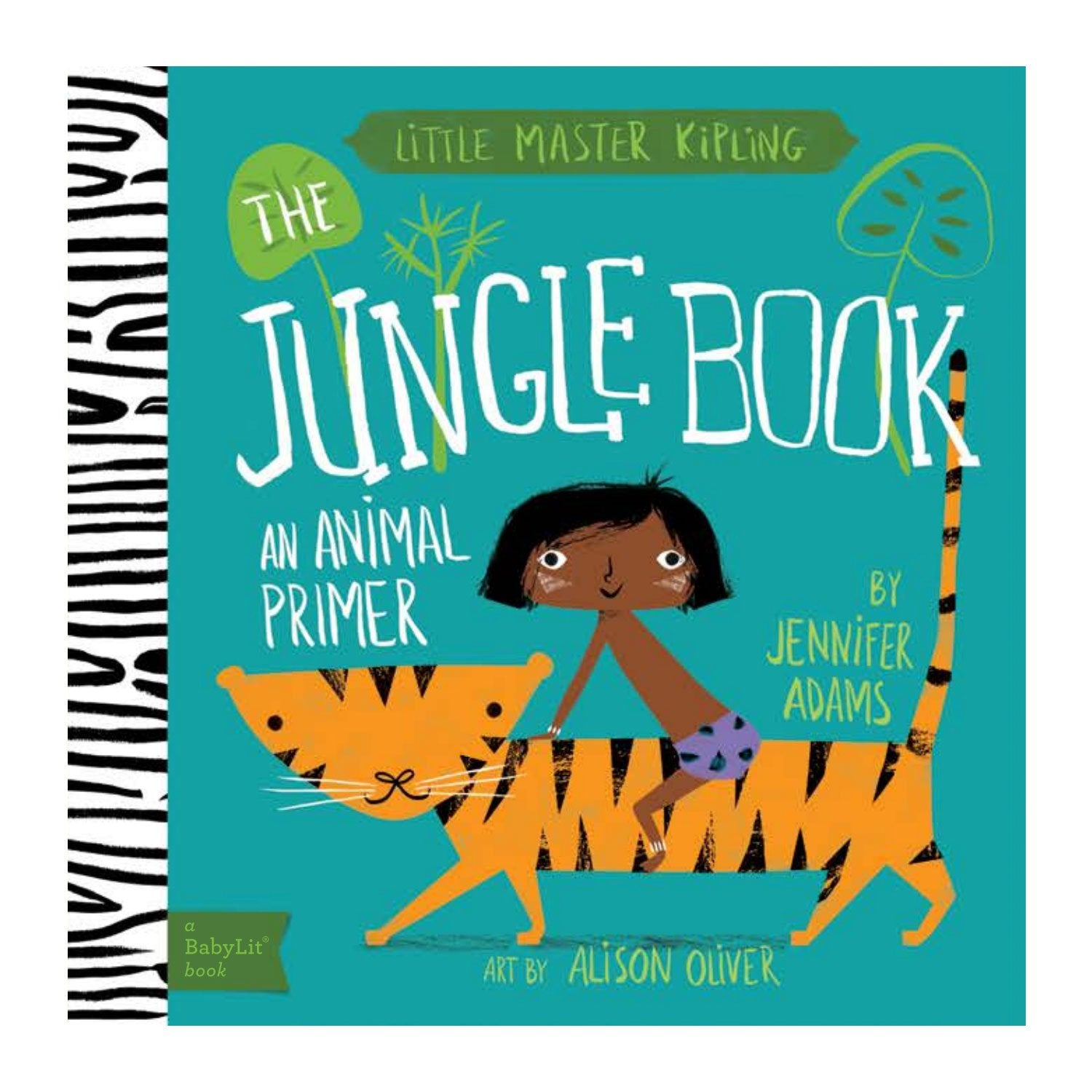 The Jungle Book Baby Board Book Babylit Books at Little Earth Nest Eco Shop