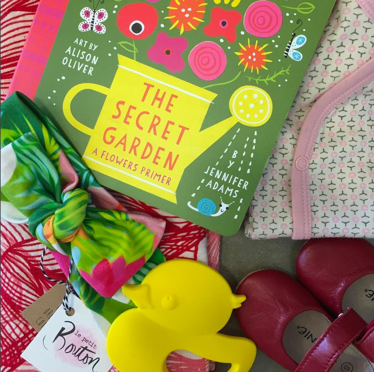 The Secret Garden Baby Board Book Babylit Books at Little Earth Nest Eco Shop